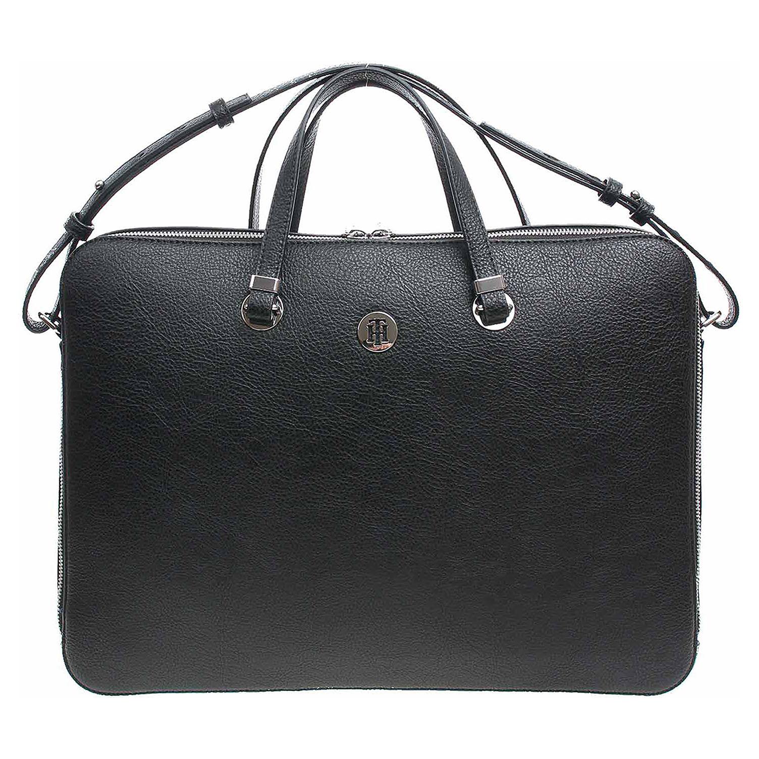 Tommy Hilfiger dámská taška AW0AW06424 002 black-warm sand AW0AW06424 002 1