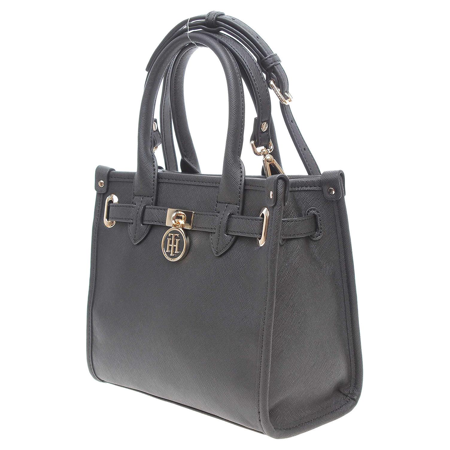 Tommy Hilfiger dámská kabelka AW0AW03646 černá 1