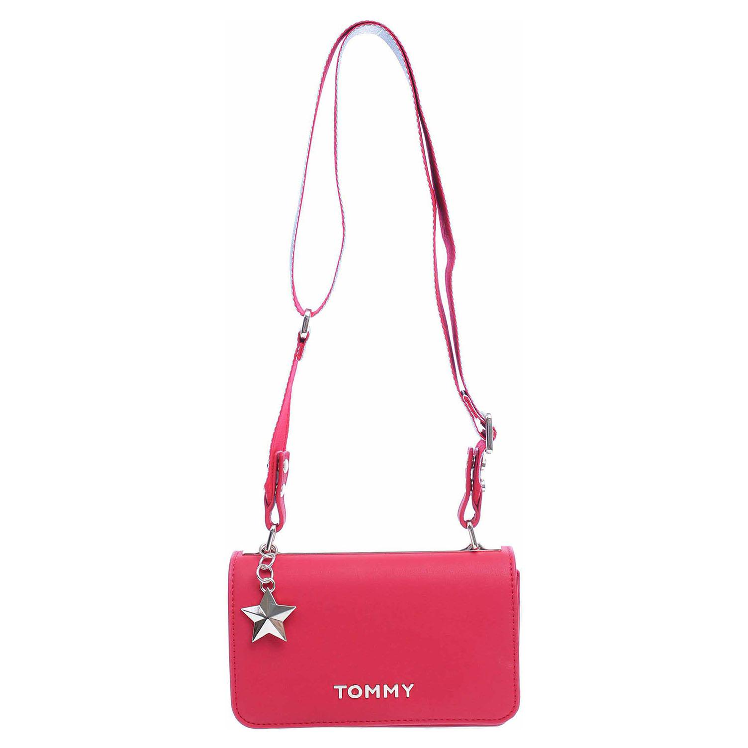 Tommy Hilfiger dámská kabelka AW0AW06438 614 tommy red-silver metallic AW0AW06438 614 1