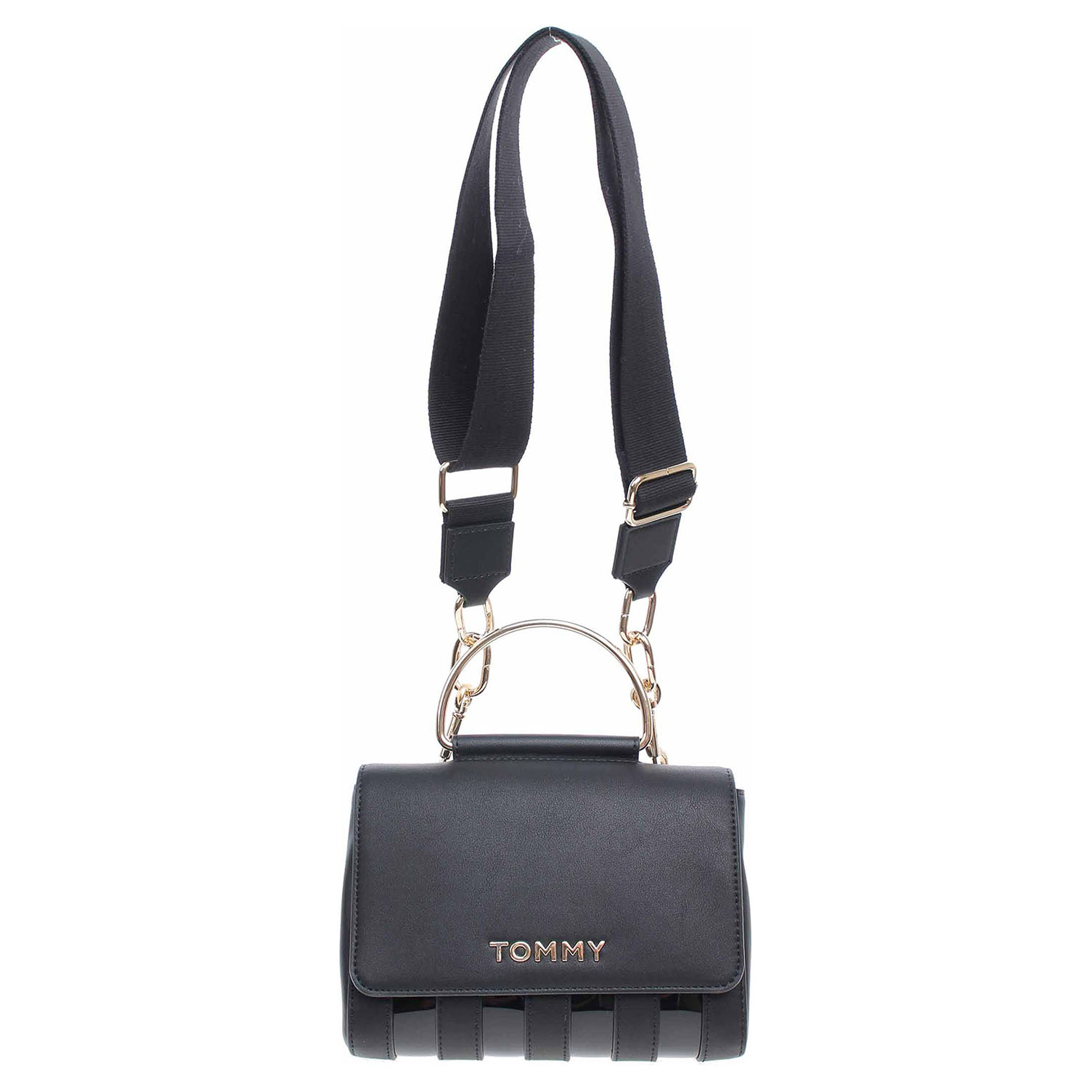 Tommy Hilfiger dámská kabelka AW0AW07482 BDS black AW0AW07482 BDS 1