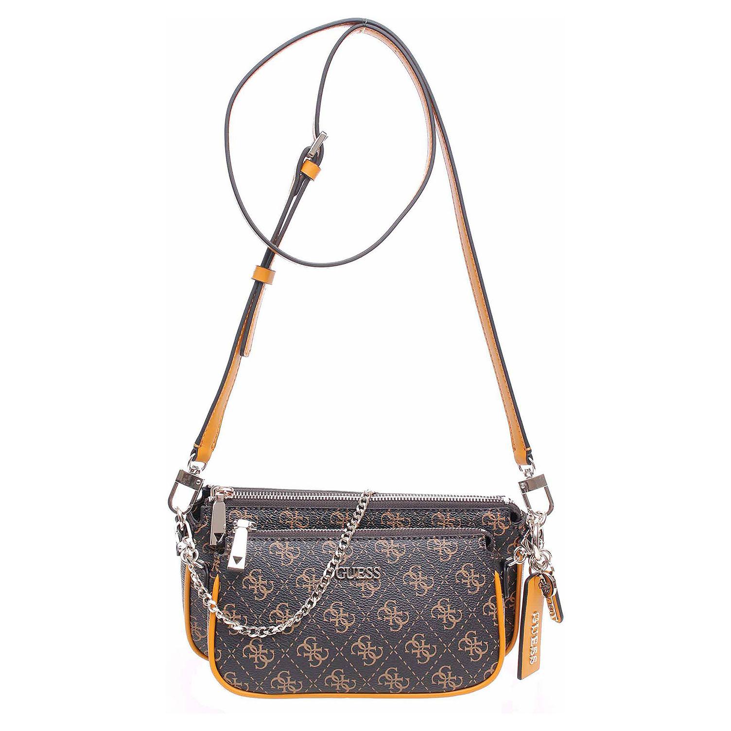 Guess dámská kabelka Arie Mini brown HWSG7885700 BRO 1