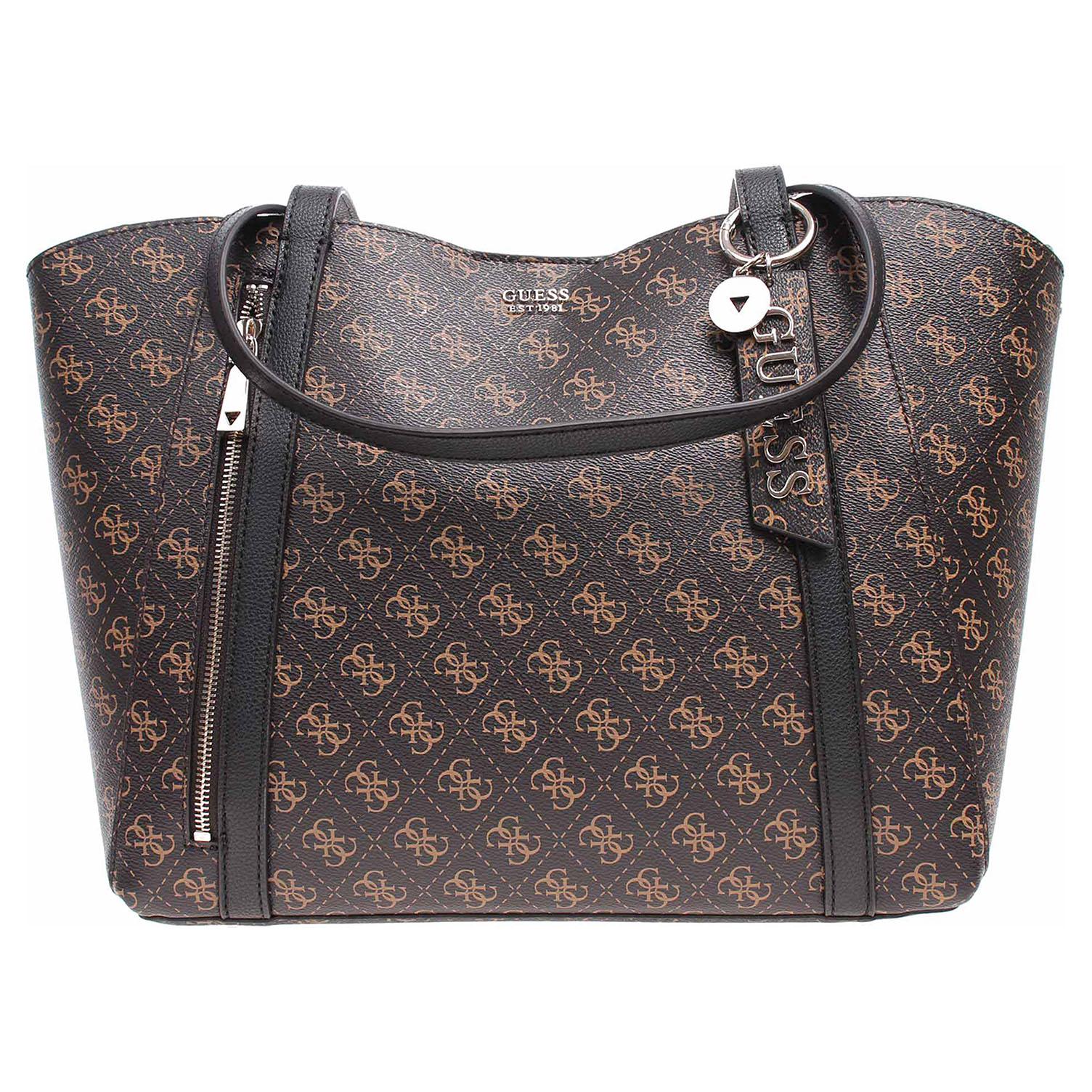 Guess dámská kabelka QL788123 brown-black QL788123 1