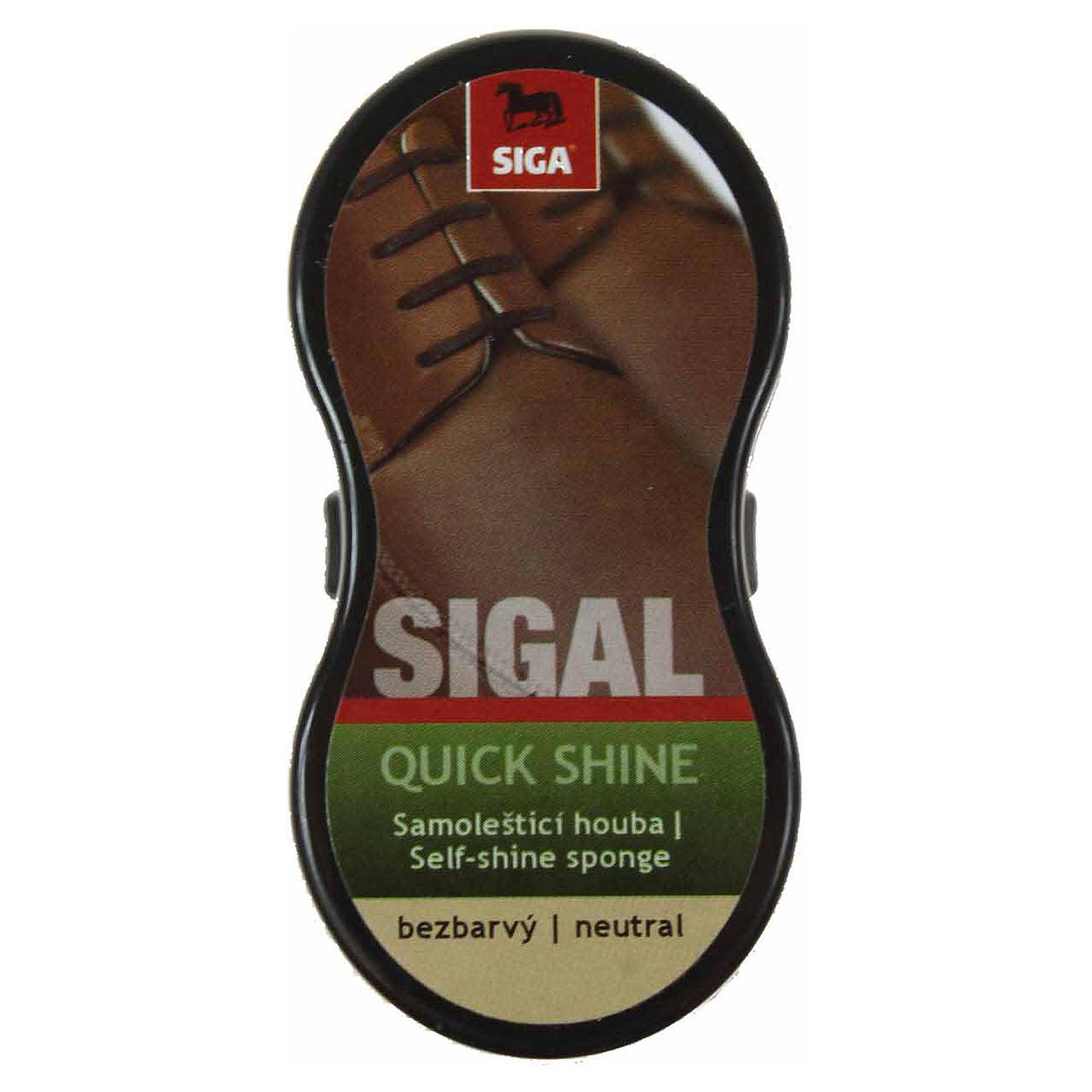 Sigal samoleštící houba malá - neutral Sigal samoleštící houba malá NO.7 - bezb