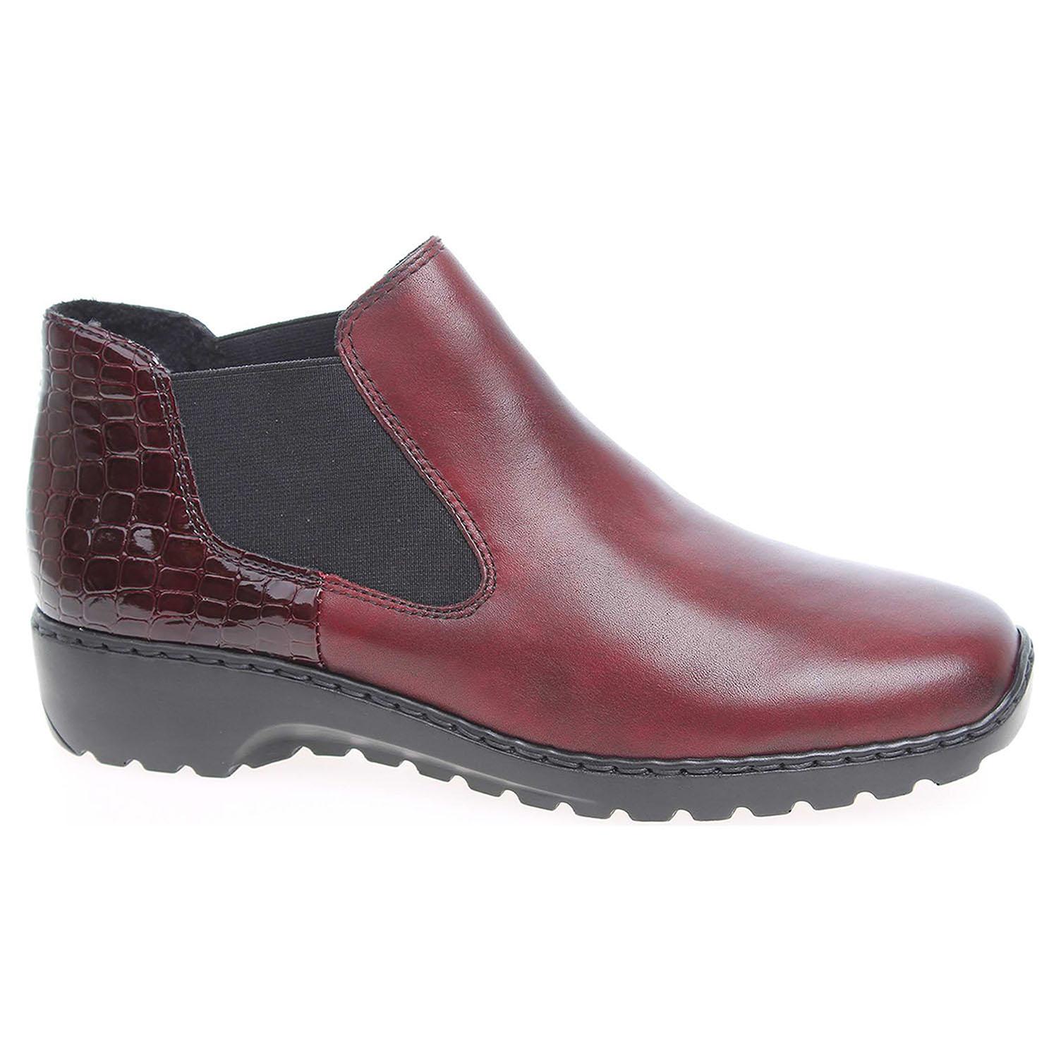 Dámská kotníková obuv Rieker L6090-35 rot L6090-35 39