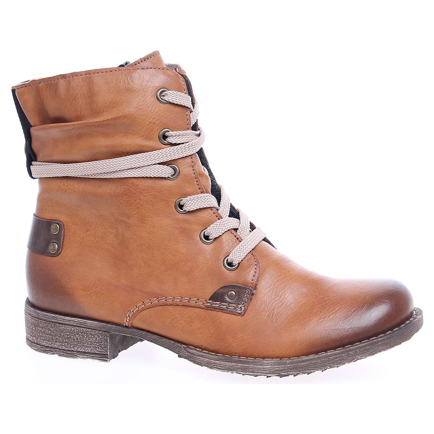 Dámská kotníková obuv Rieker 70820-24 braun 70820-24 39