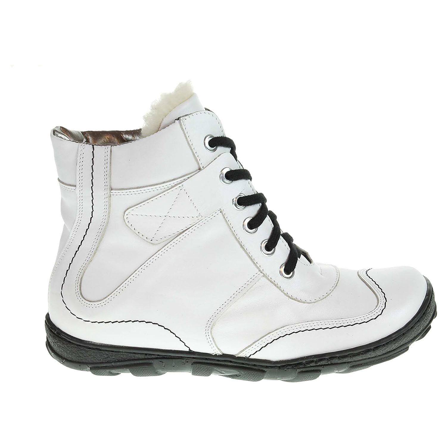 Dámská kotníková obuv 1212 bílá 1212 biela 39