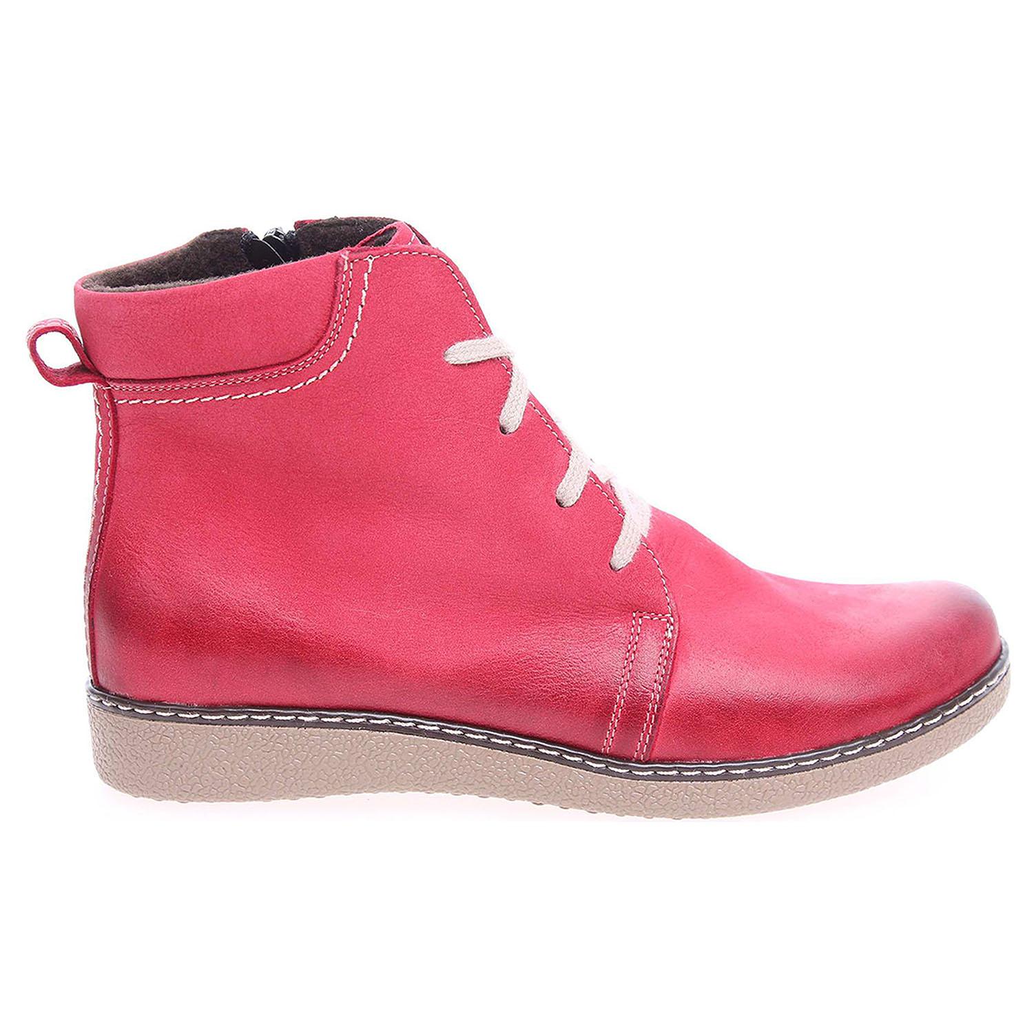 917949fd4ed4f Dámská kotníková obuv J3171C červená J3171 C červ 37