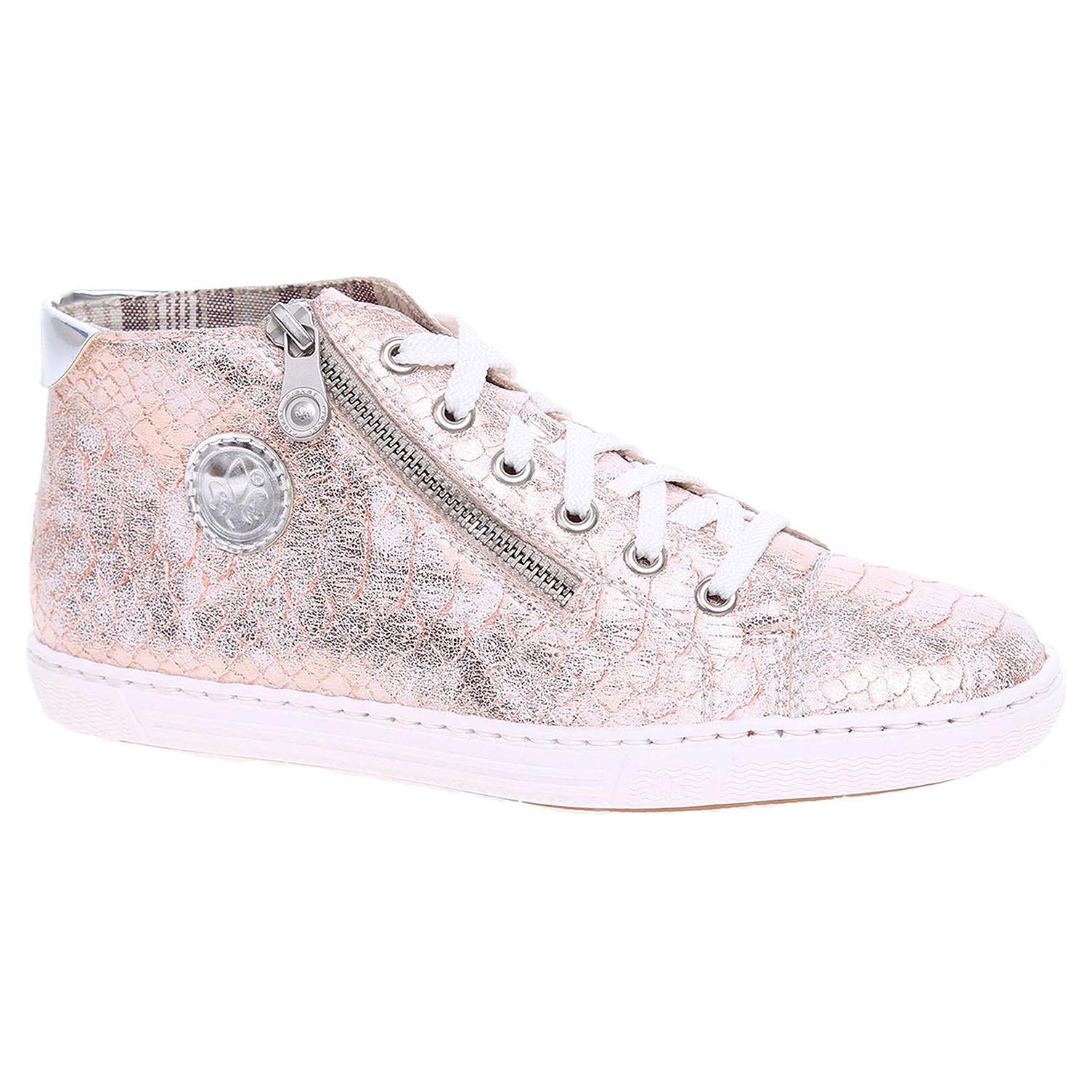 Dámská kotníková obuv Rieker L0934-31 růžové 39