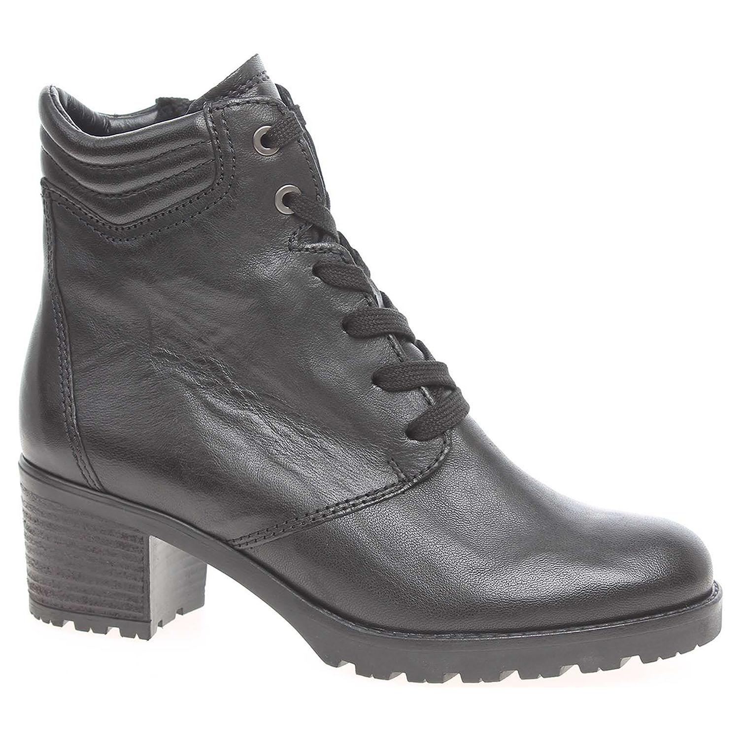 Dámská kotníková obuv Gabor 72.805.92 černé 72.805.92 36