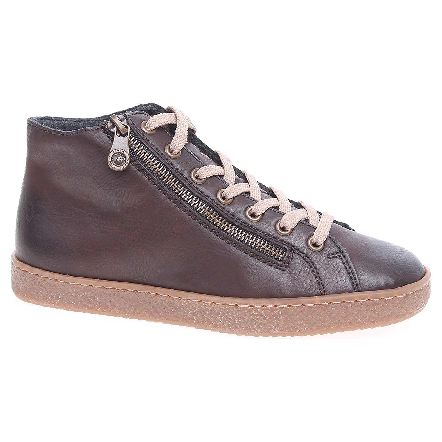Dámská kotníková obuv Rieker L4831-25 hnědé L4831-25 41