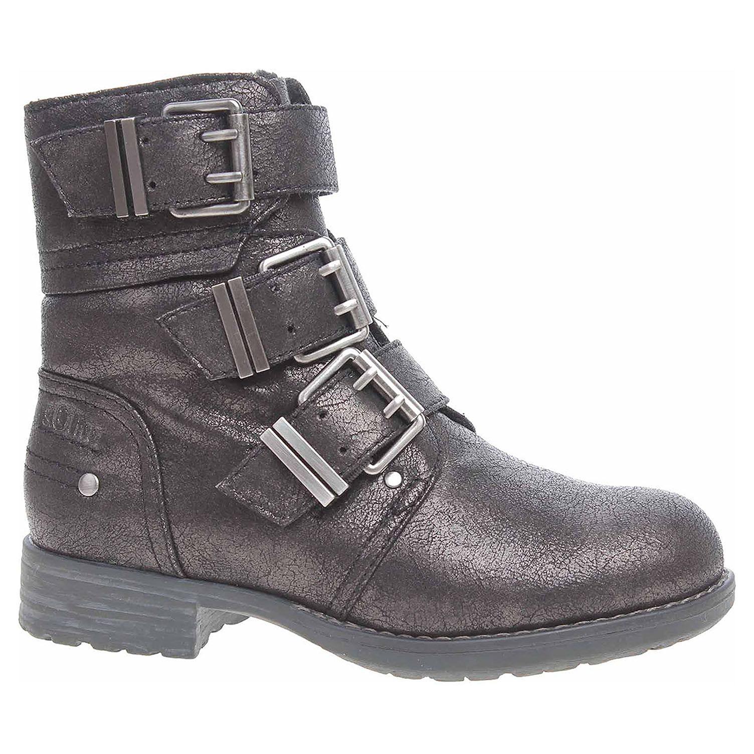 Dámská kotníková obuv s.Oliver 5-26460-39 šedé 5-5-26460-39 954 39
