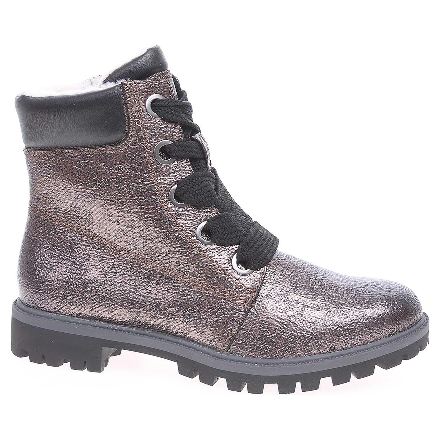 Dámská kotníková obuv Tamaris 1-26770-39 platinum 1-1-26770-39 949 38