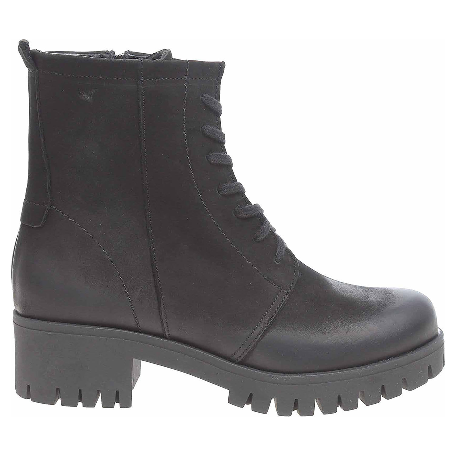 667b491e4e6a Dámská kotníková obuv J3085A černá J 3085 A čierna nubuk 37