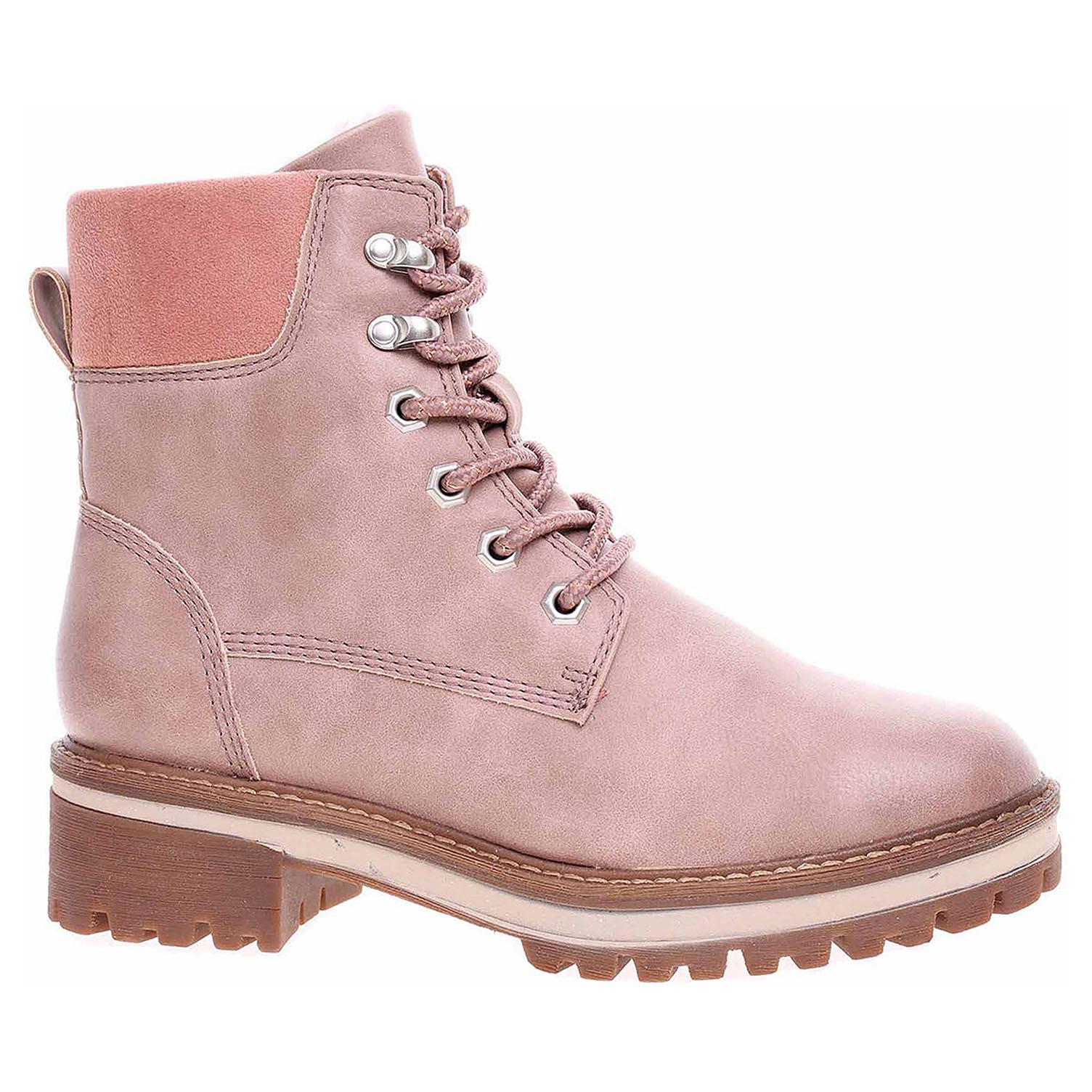 Dámská kotníková obuv Tamaris 1-26250-21 rose 1-1-26250-21 521 40