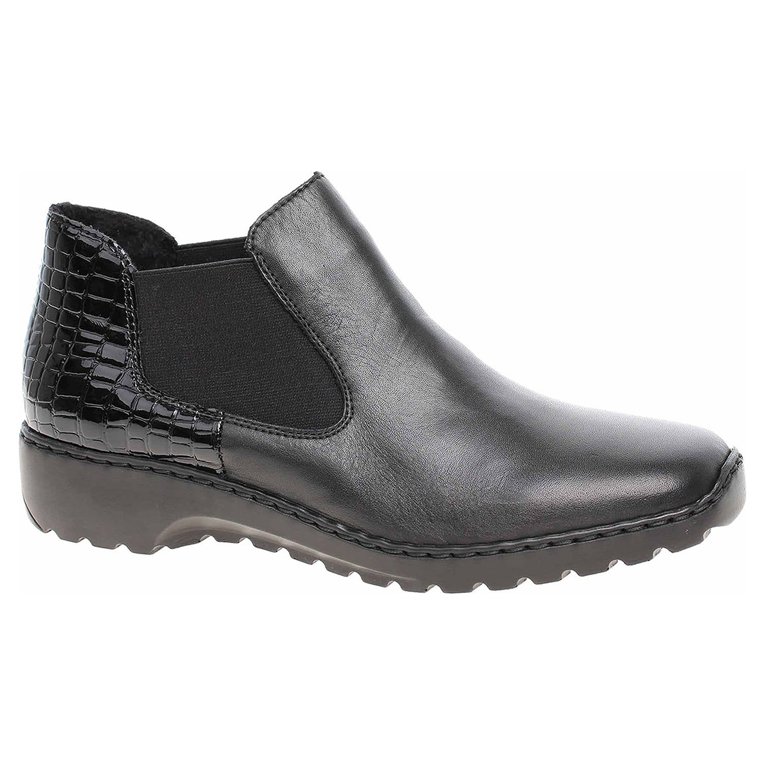 Dámská kotníková obuv Rieker L6090-02 schwarz L6090-02 41