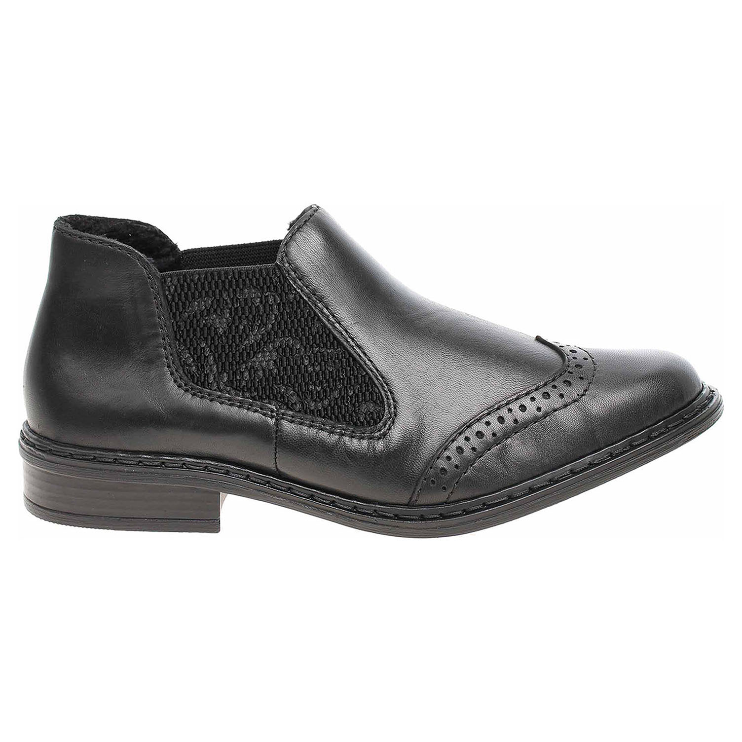 Rieker dámská obuv 52093-00 schwarz 52093-00 39