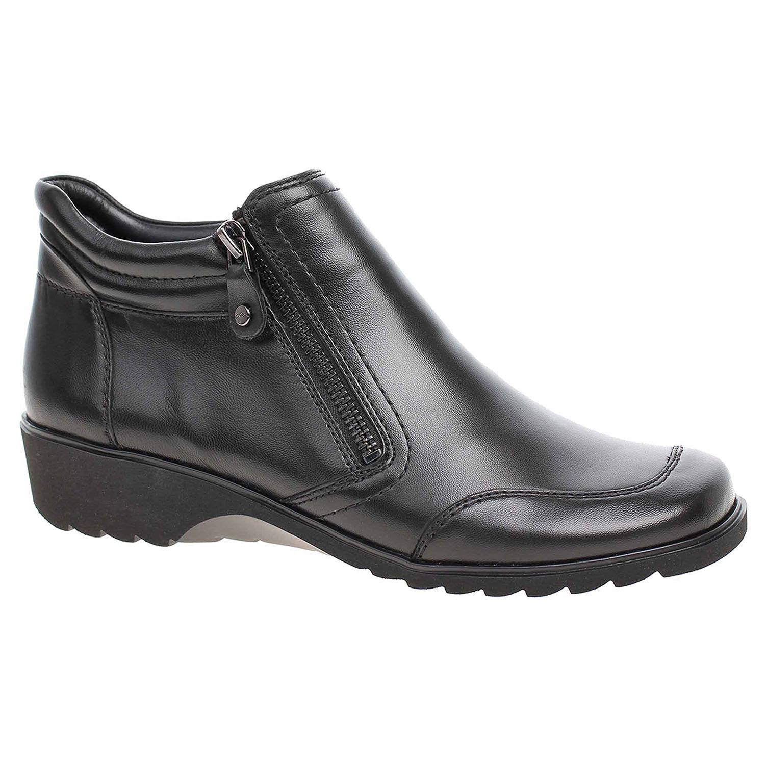 Dámská kotníková obuv Ara 12-42774-61 schwarz 12-42774-61 37,5