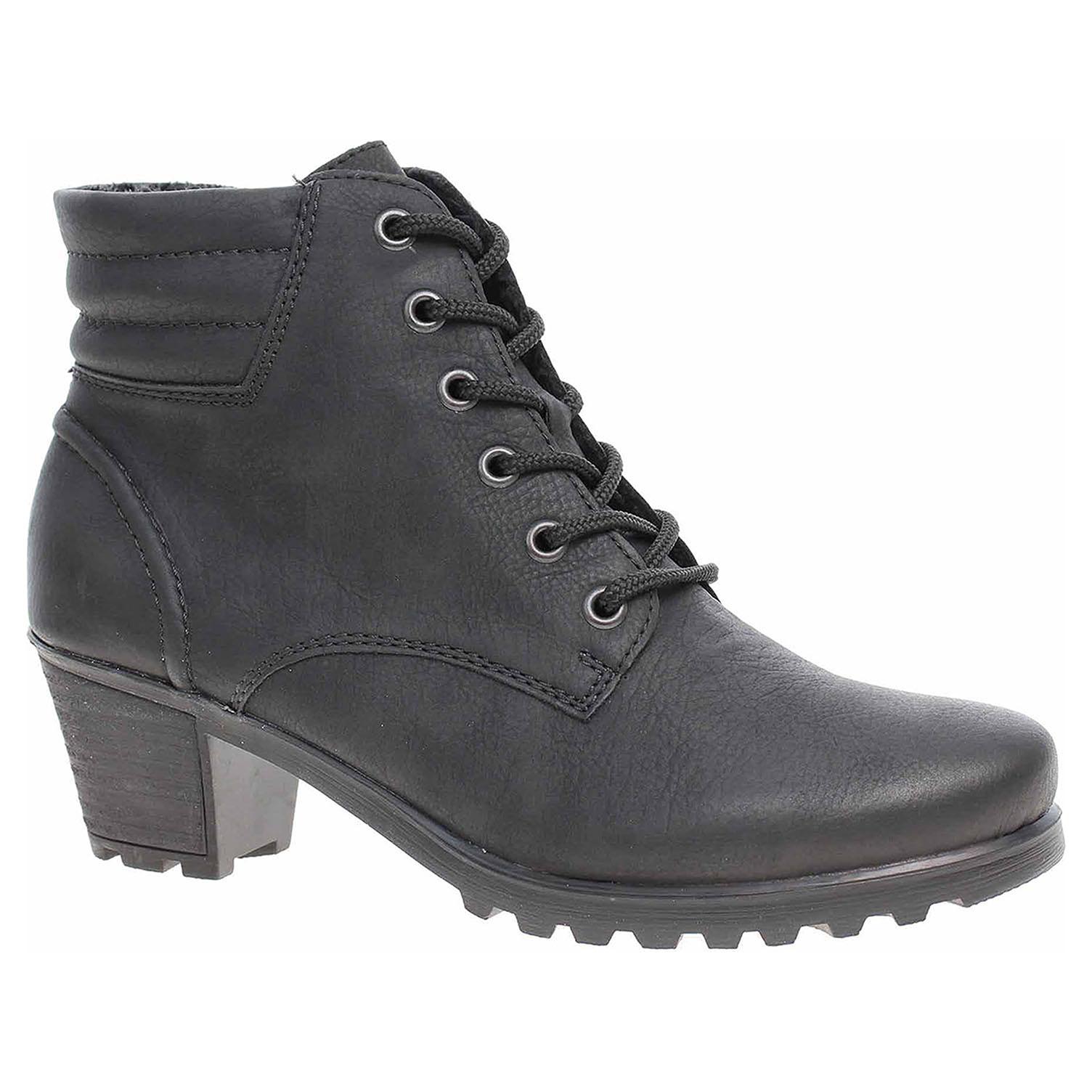 Dámská kotníková obuv Rieker Y8023-01 schwarz Y8023-01 39