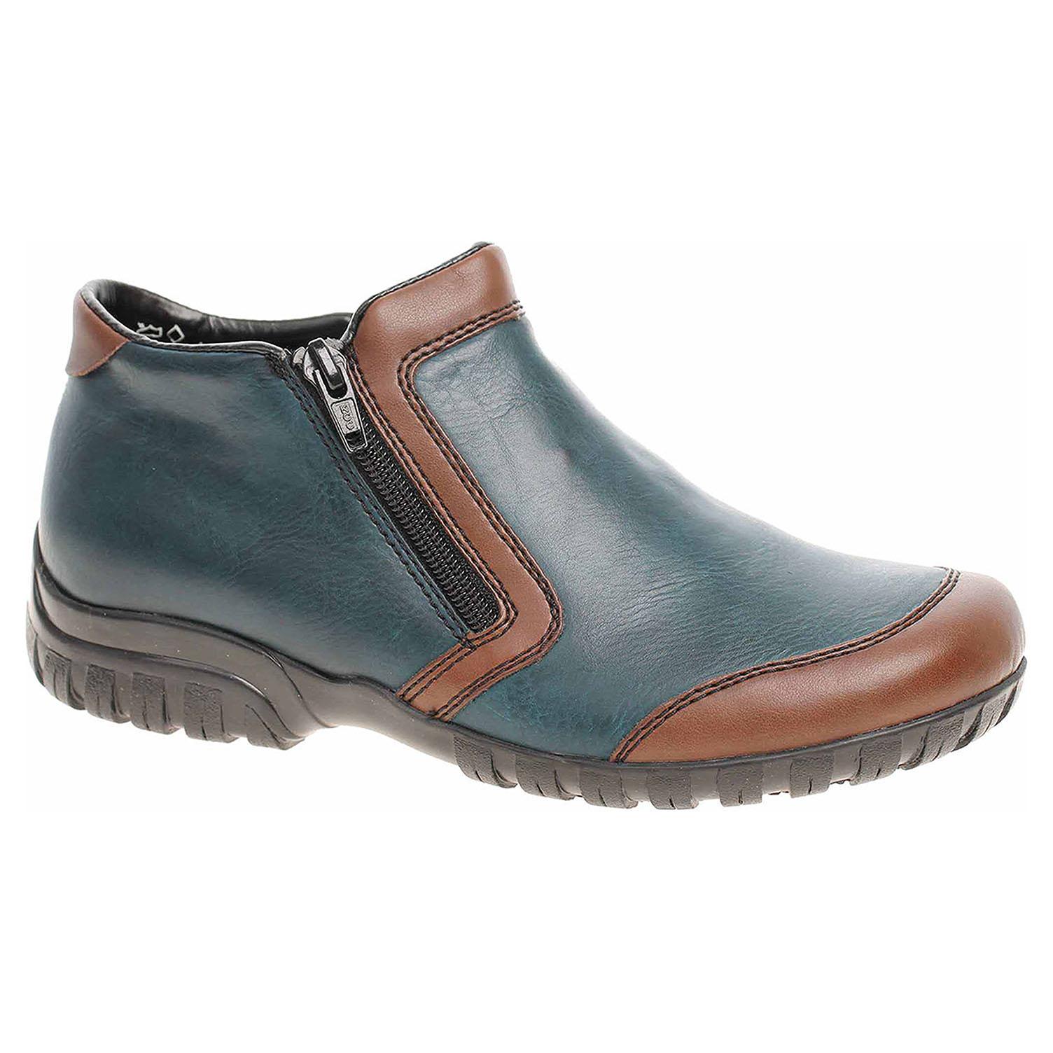 Dámská kotníková obuv Rieker L4659-25 blau kombi L4659-25 38