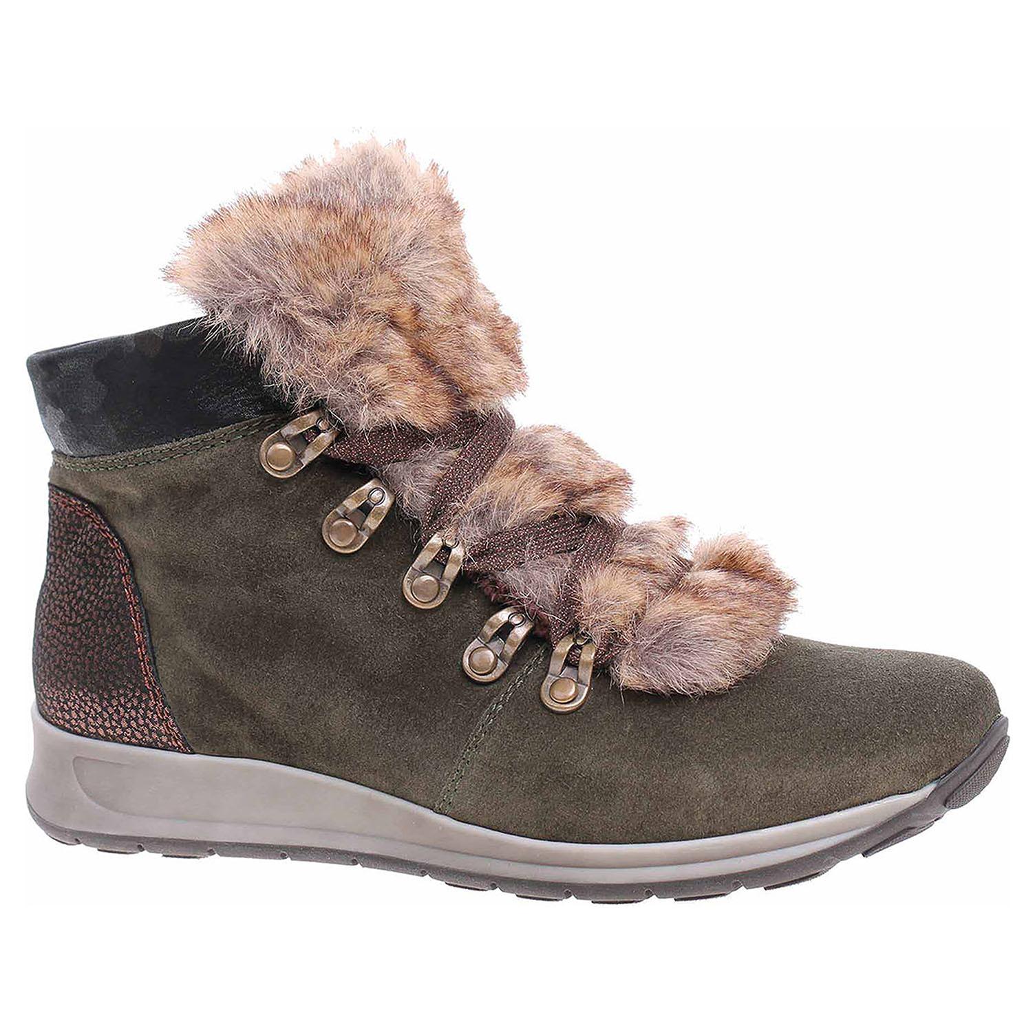 Dámská kotníková obuv Ara 12-44515-78 forest-moro-copper 12-44515-78 38