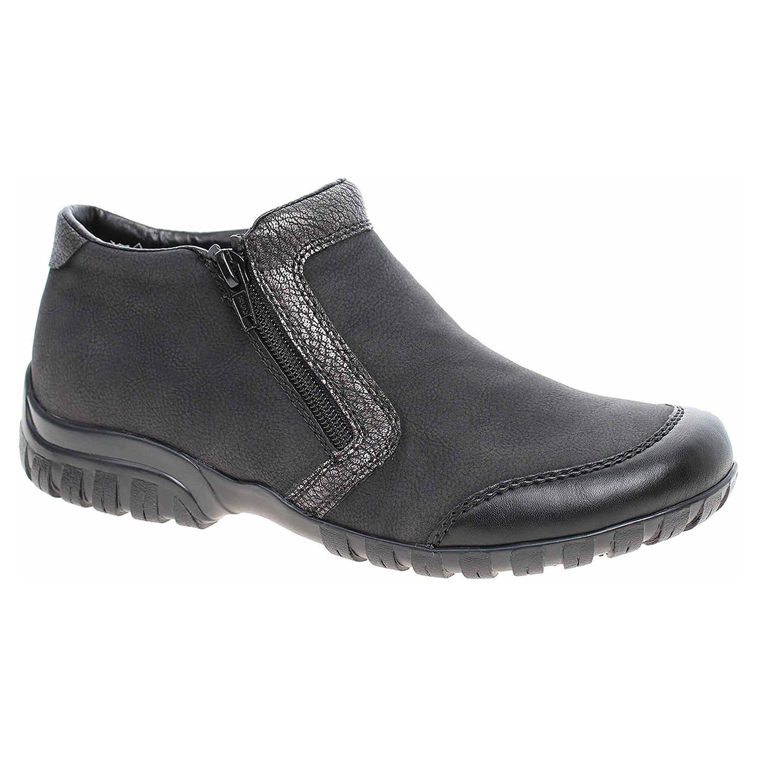 Dámská kotníková obuv Rieker L4659-00 schwarz L4659-00 38