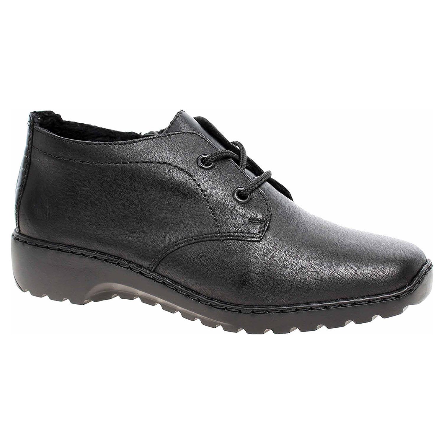 Dámská kotníková obuv Rieker L6040-00 schwarz L6040-00 41