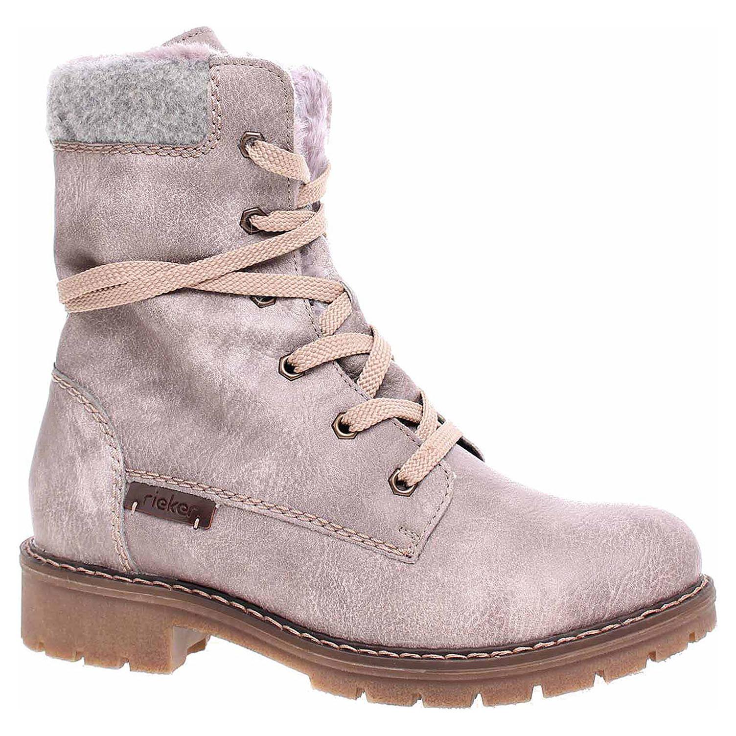 Dámská kotníková obuv Rieker Y9122-42 grau kombi Y9122-42 38