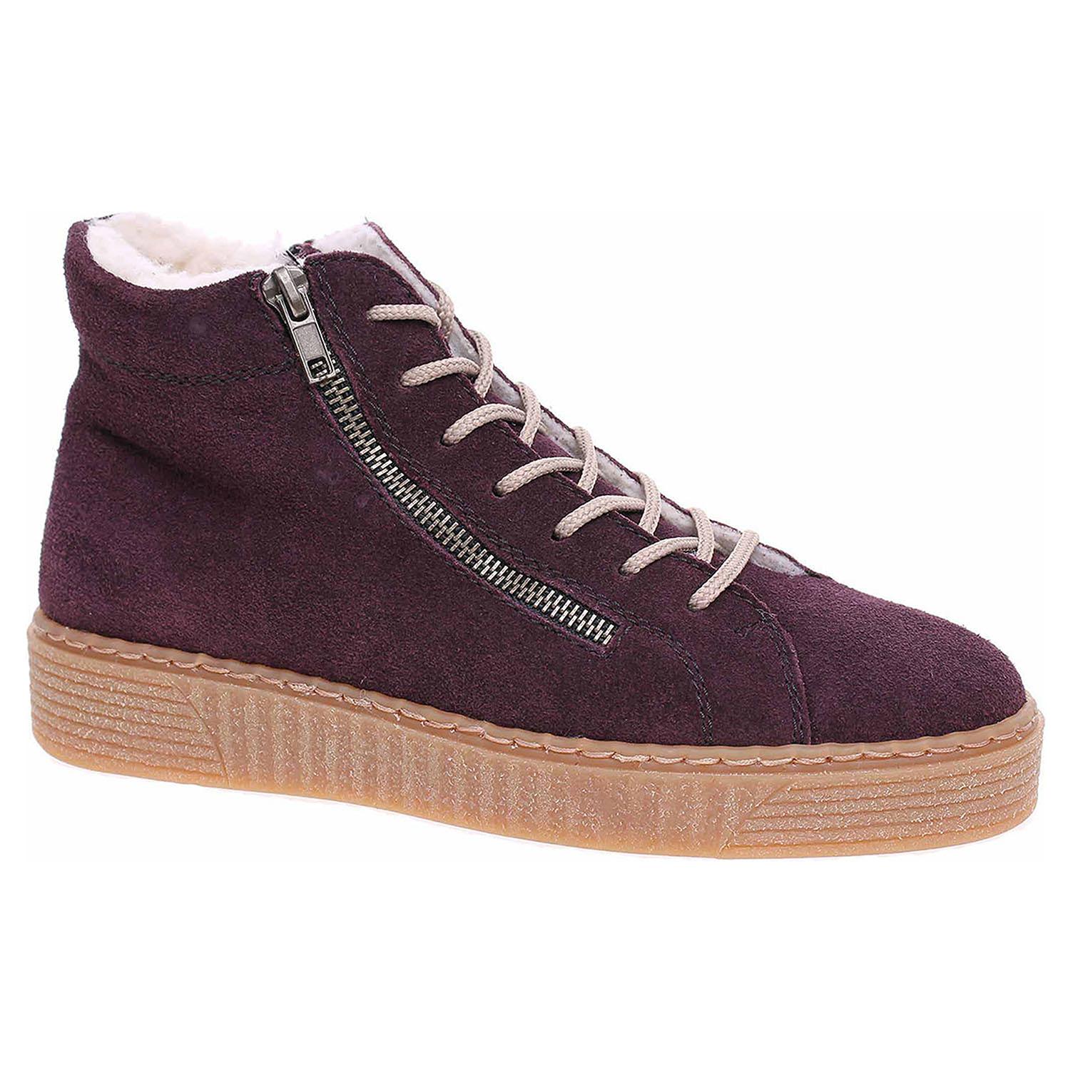 Dámská kotníková obuv Rieker 71611-30 violett 71611-30 39