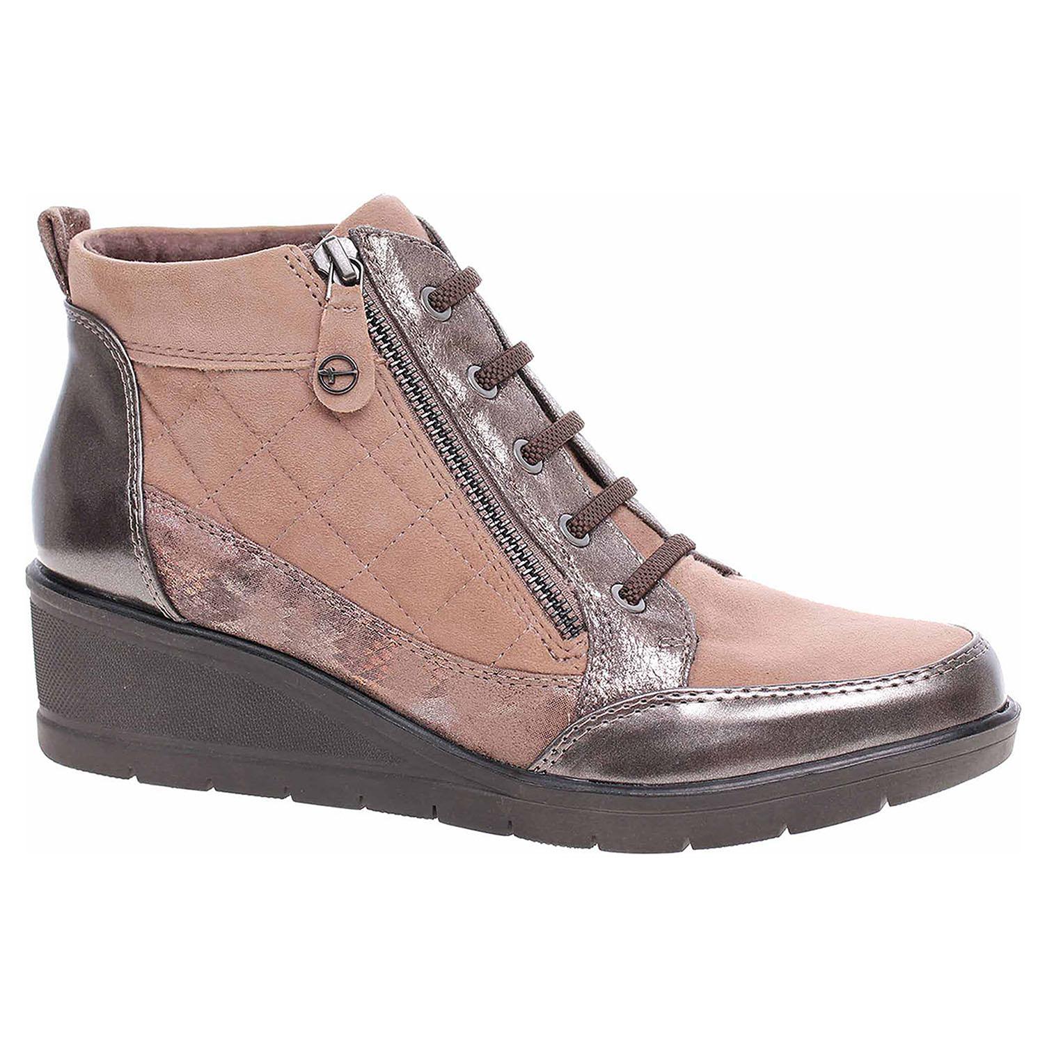 Dámská kotníková obuv Tamaris 1-25224-21 taupe comb 1-1-25224-21 344 39
