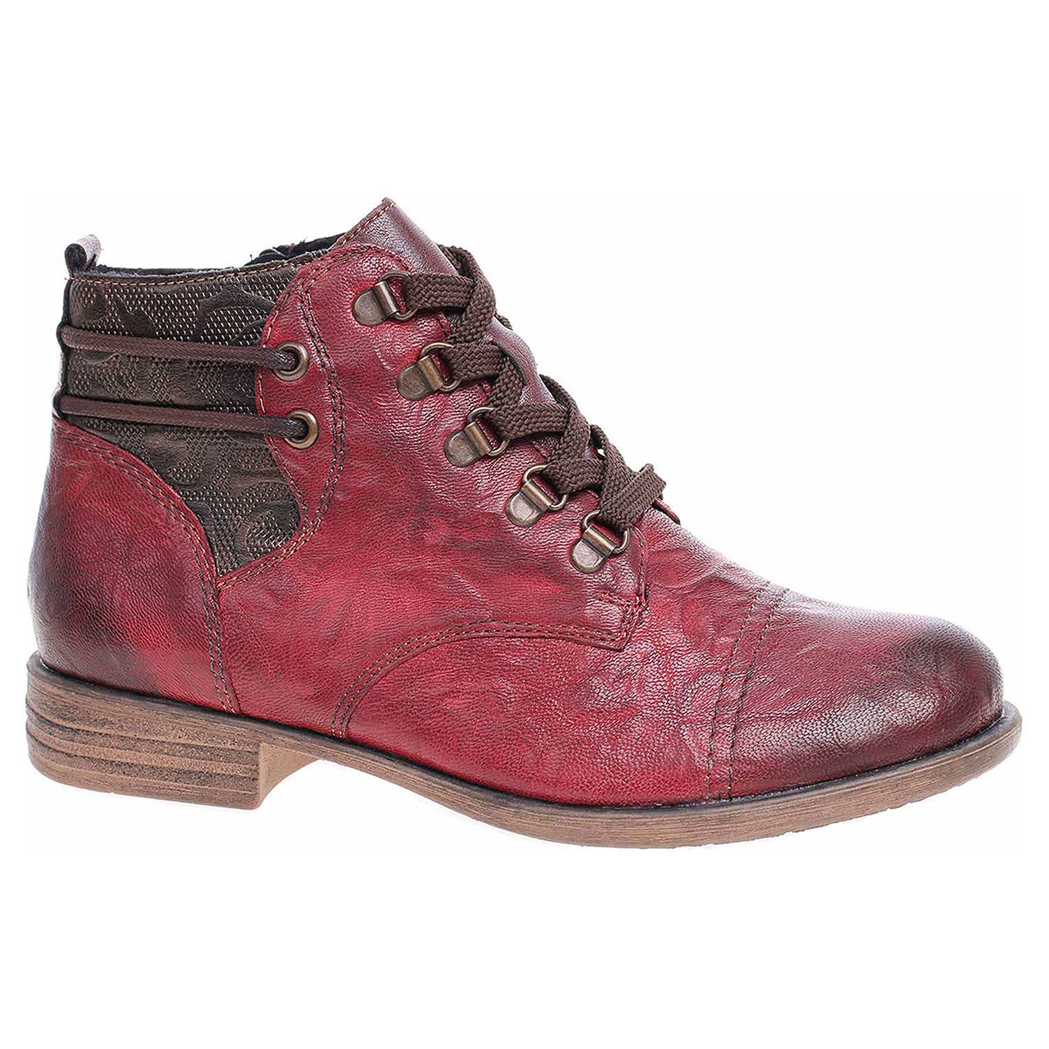 Dámská kotníková obuv Remonte D4977-35 rot kombi D4977-35 44
