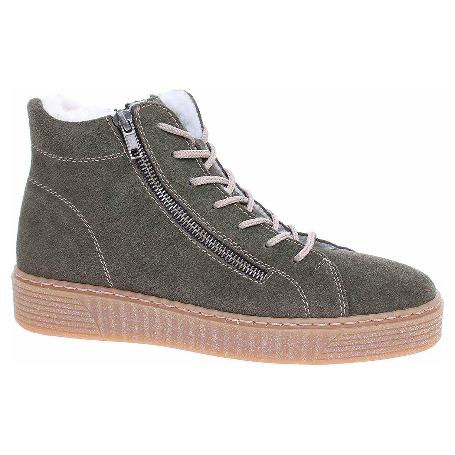 Dámská kotníková obuv Rieker 71611-54 grun 71611-54 39