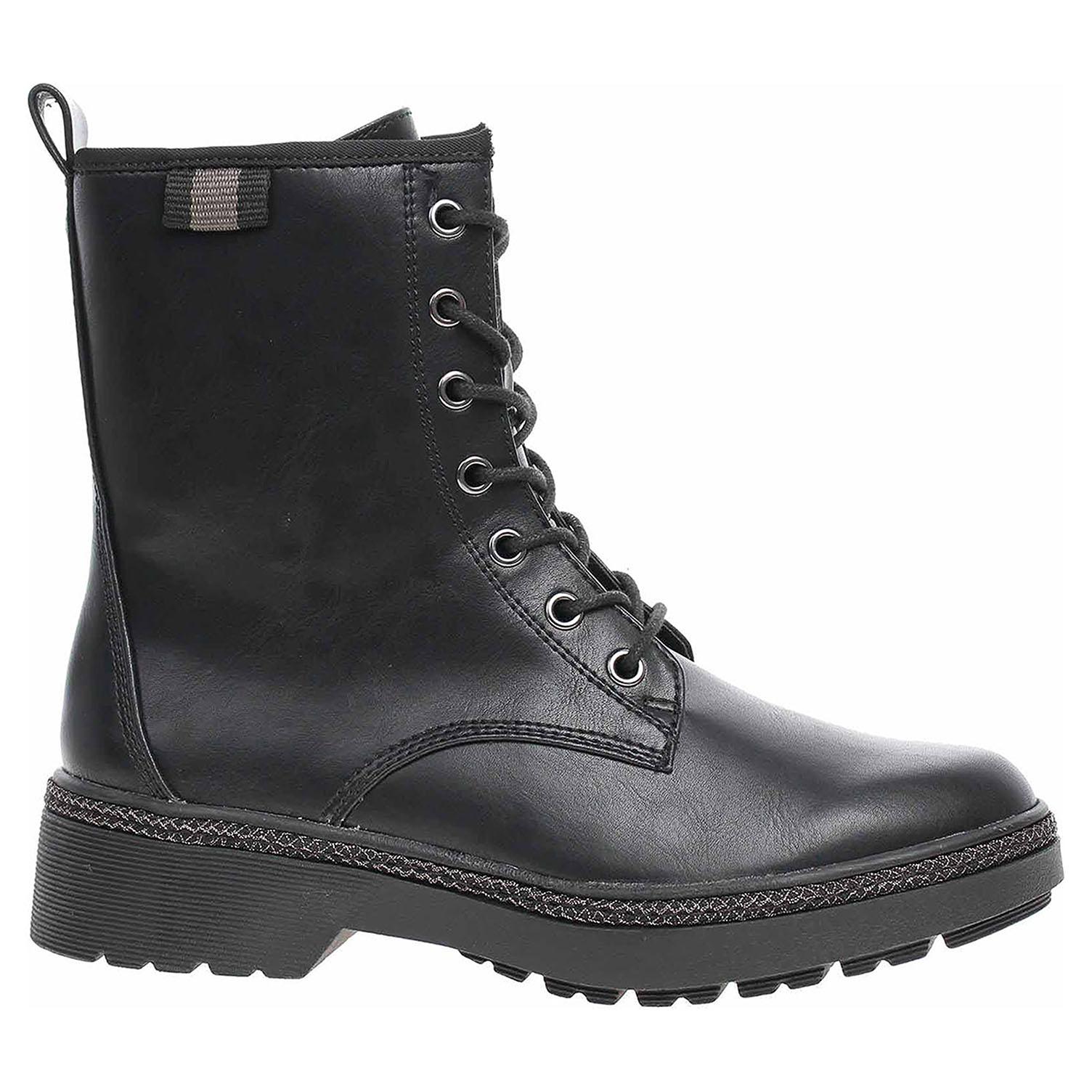 Dámská kotníková obuv Tamaris 1-25224-23 black matt 1-1-25224-23 020 39