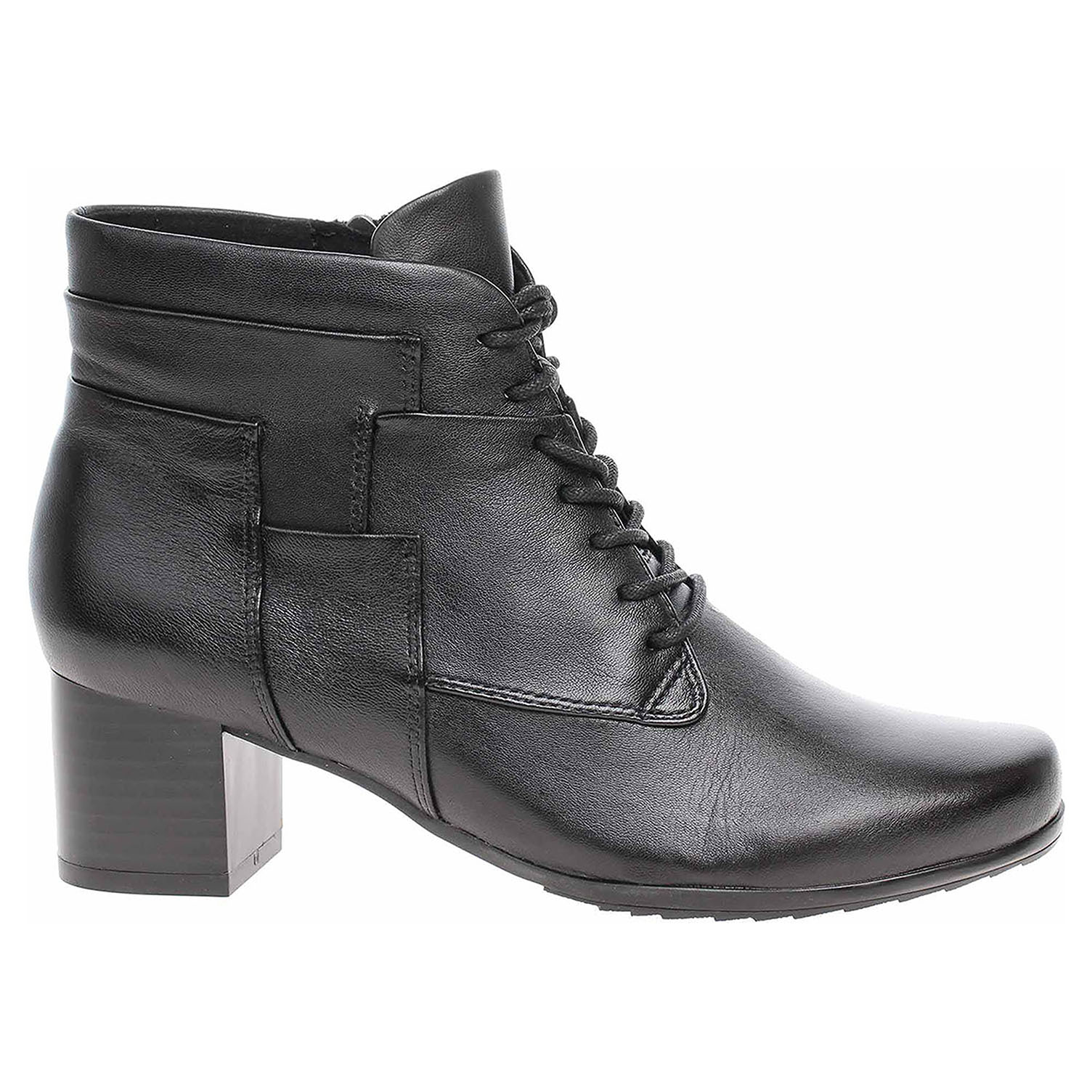 Dámská kotníková obuv Caprice 9-25120-33 black soft napa 9-9-25120-33 040 39