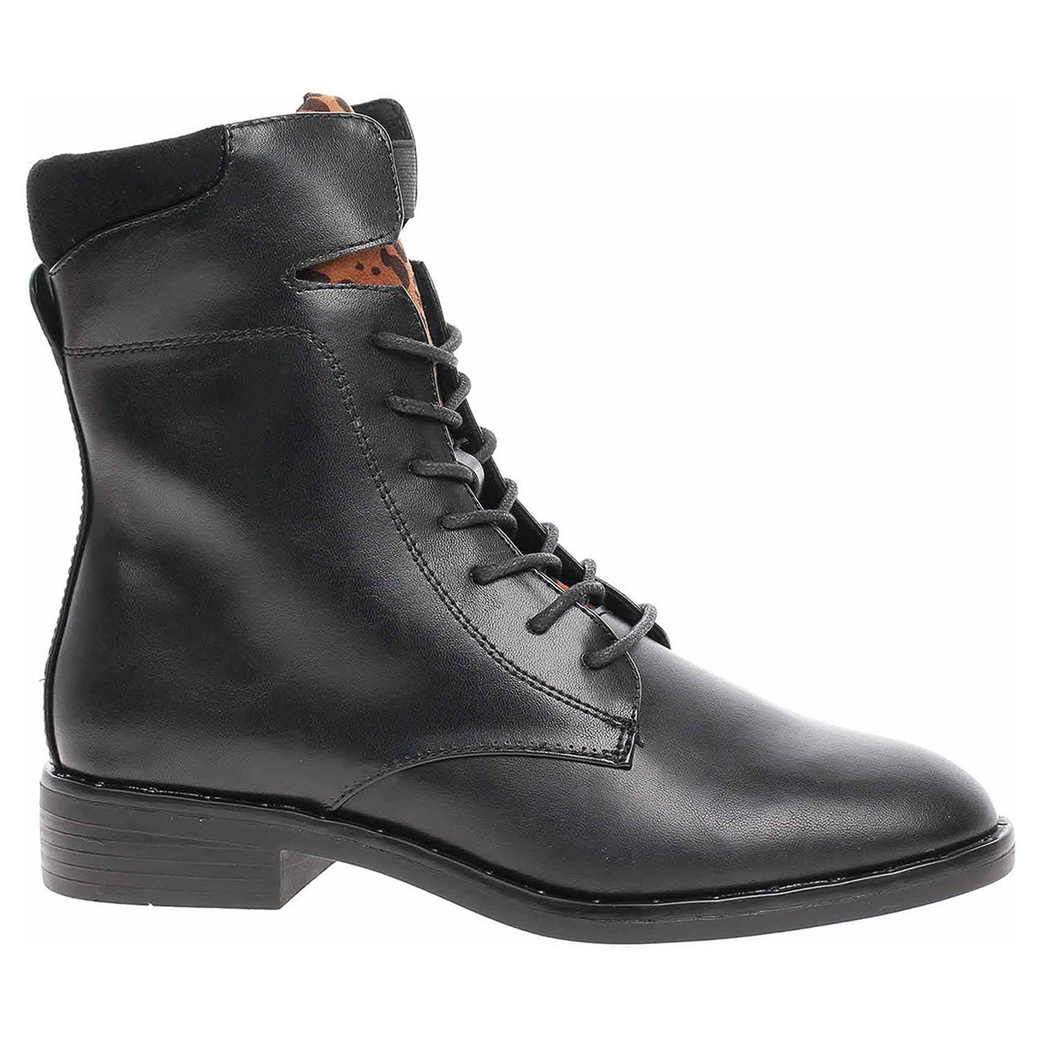 Dámská kotníková obuv s.Oliver 5-25107-23 black 5-5-25107-23 001 39