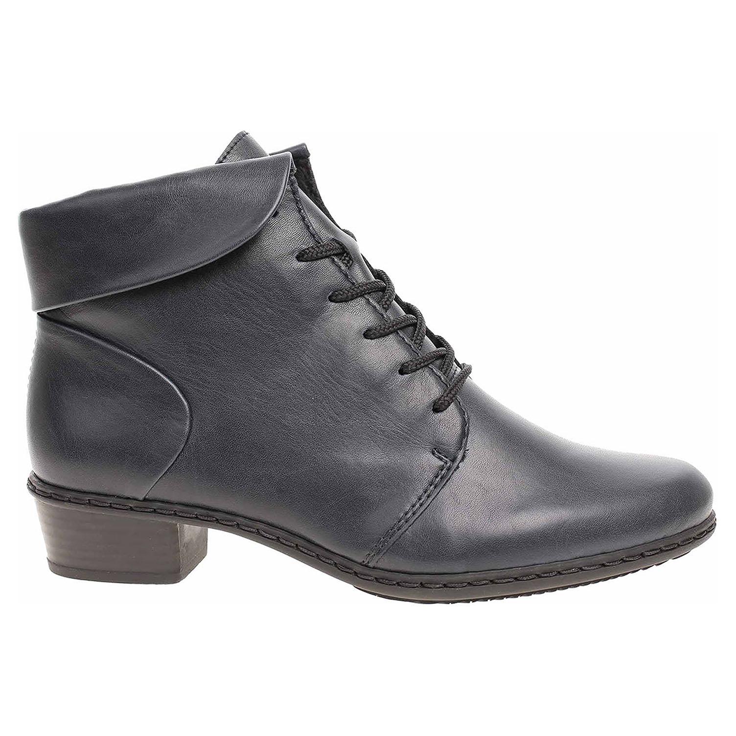 Dámská kotníková obuv Rieker Y0711-14 blau Y0711-14 39
