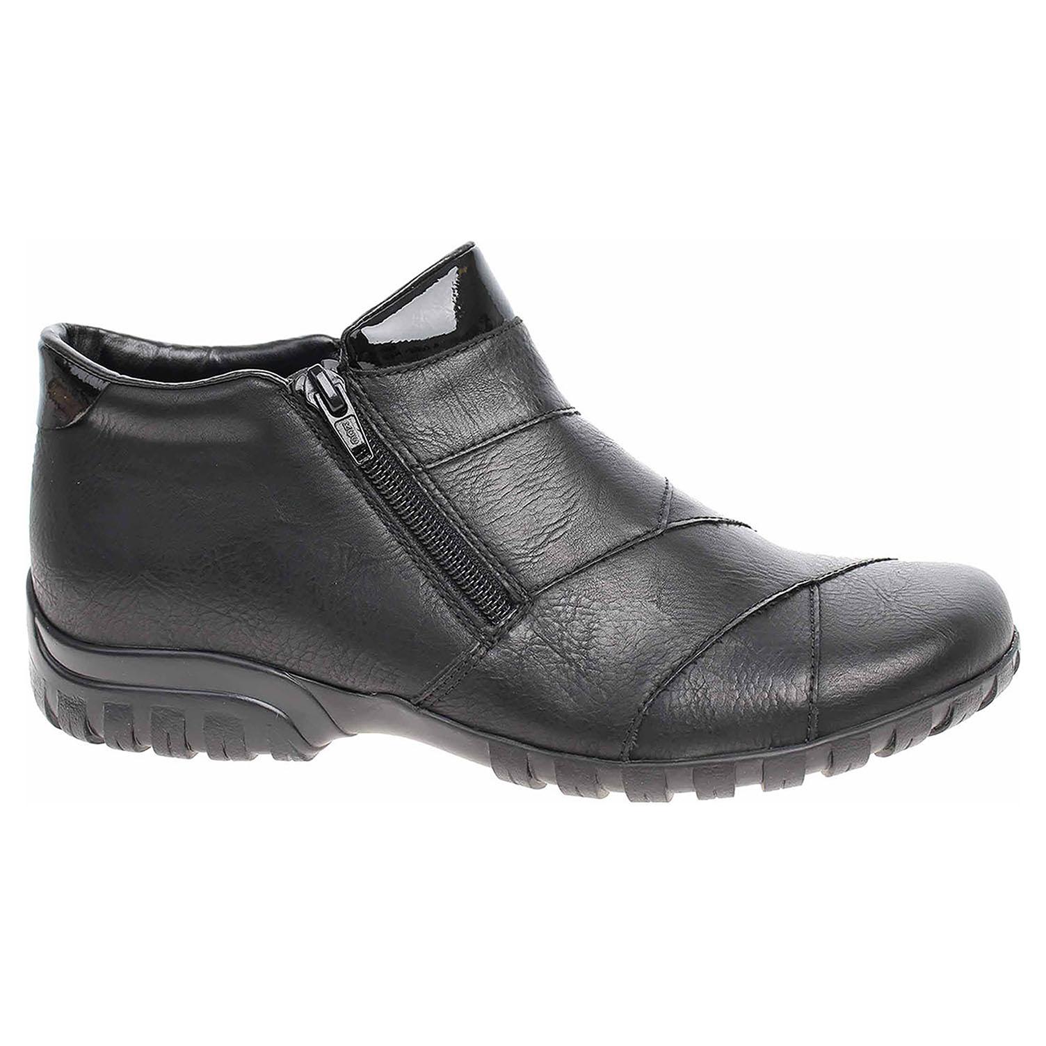 Dámská kotníková obuv Rieker L4673-01 schwarz L4673-01 39