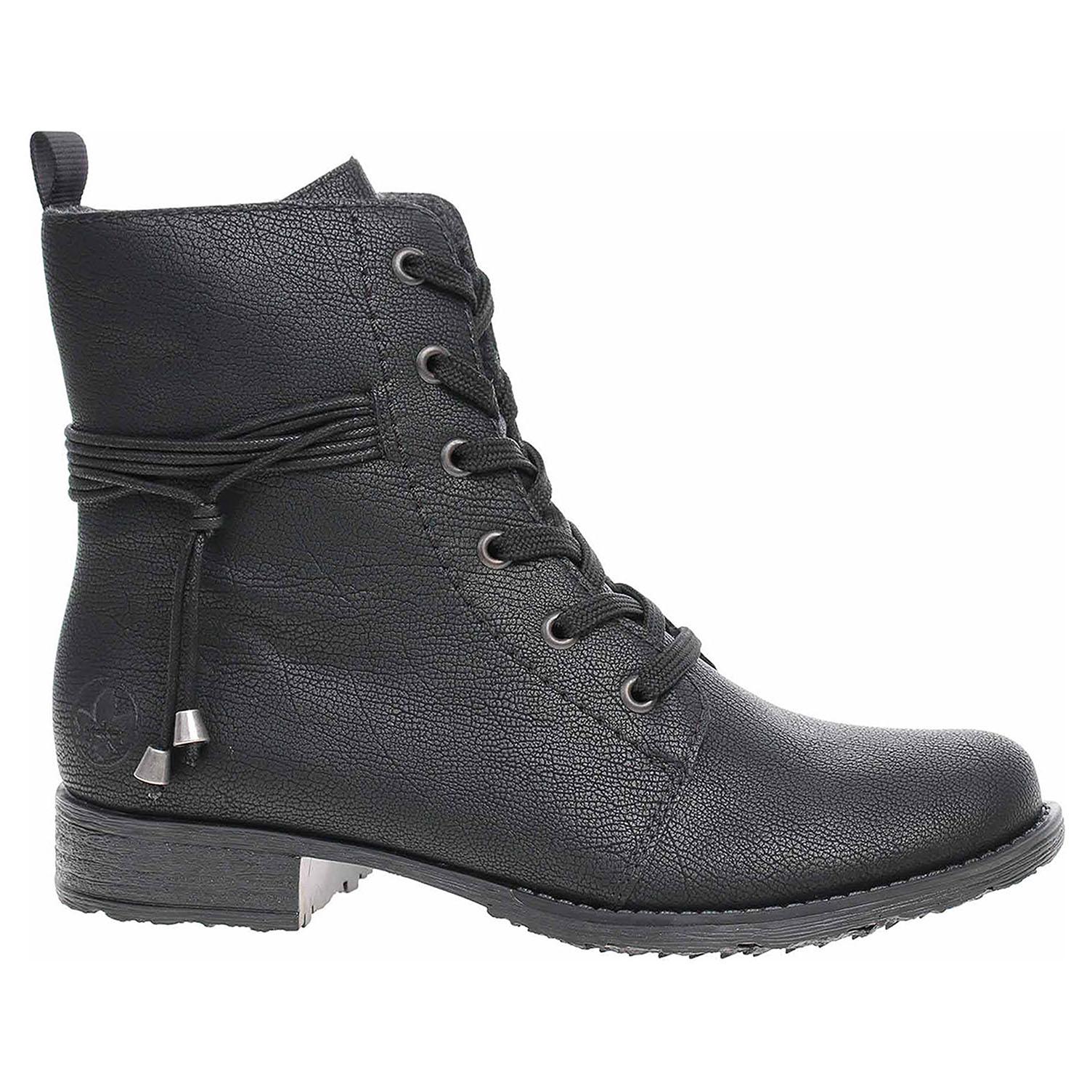 Dámská kotníková obuv Rieker 70843-00 schwarz 70843-00 39