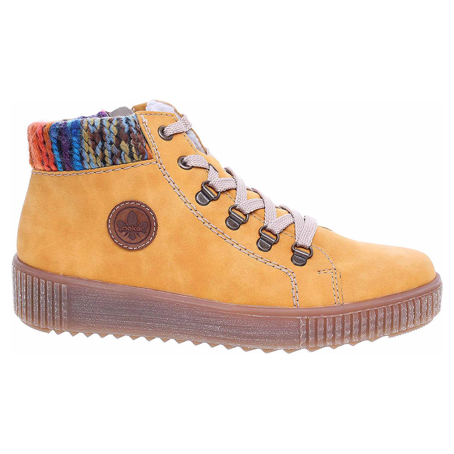 Dámská kotníková obuv Rieker M6411-68 gelb M6411-68 39