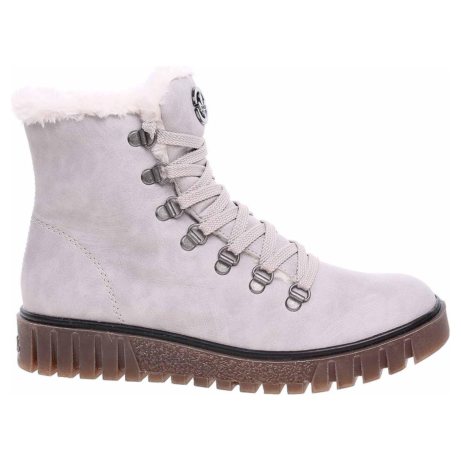 Dámská kotníková obuv Rieker Y3432-40 grau Y3432-40 39