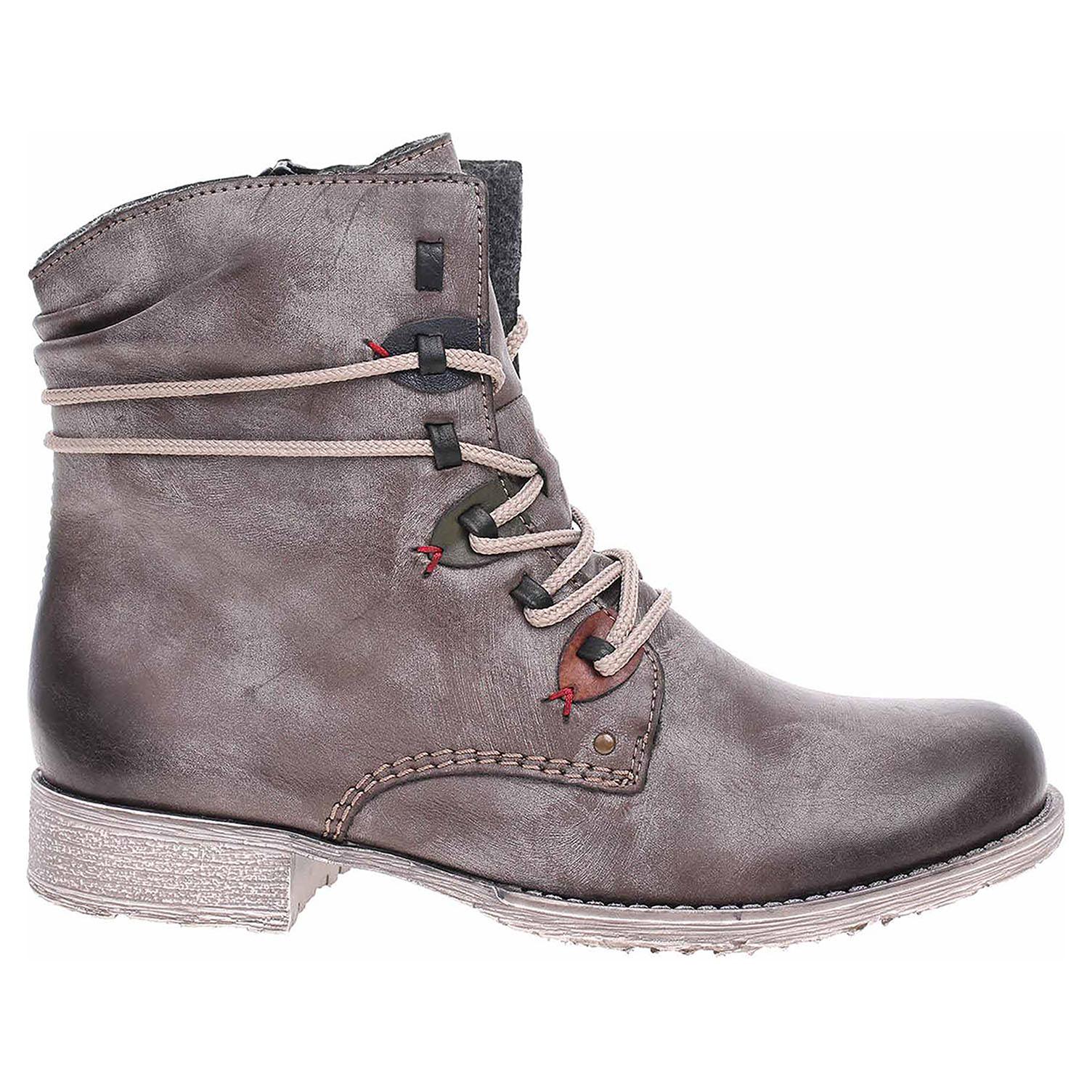Dámská kotníková obuv Rieker 70827-26 braun 70827-26 39