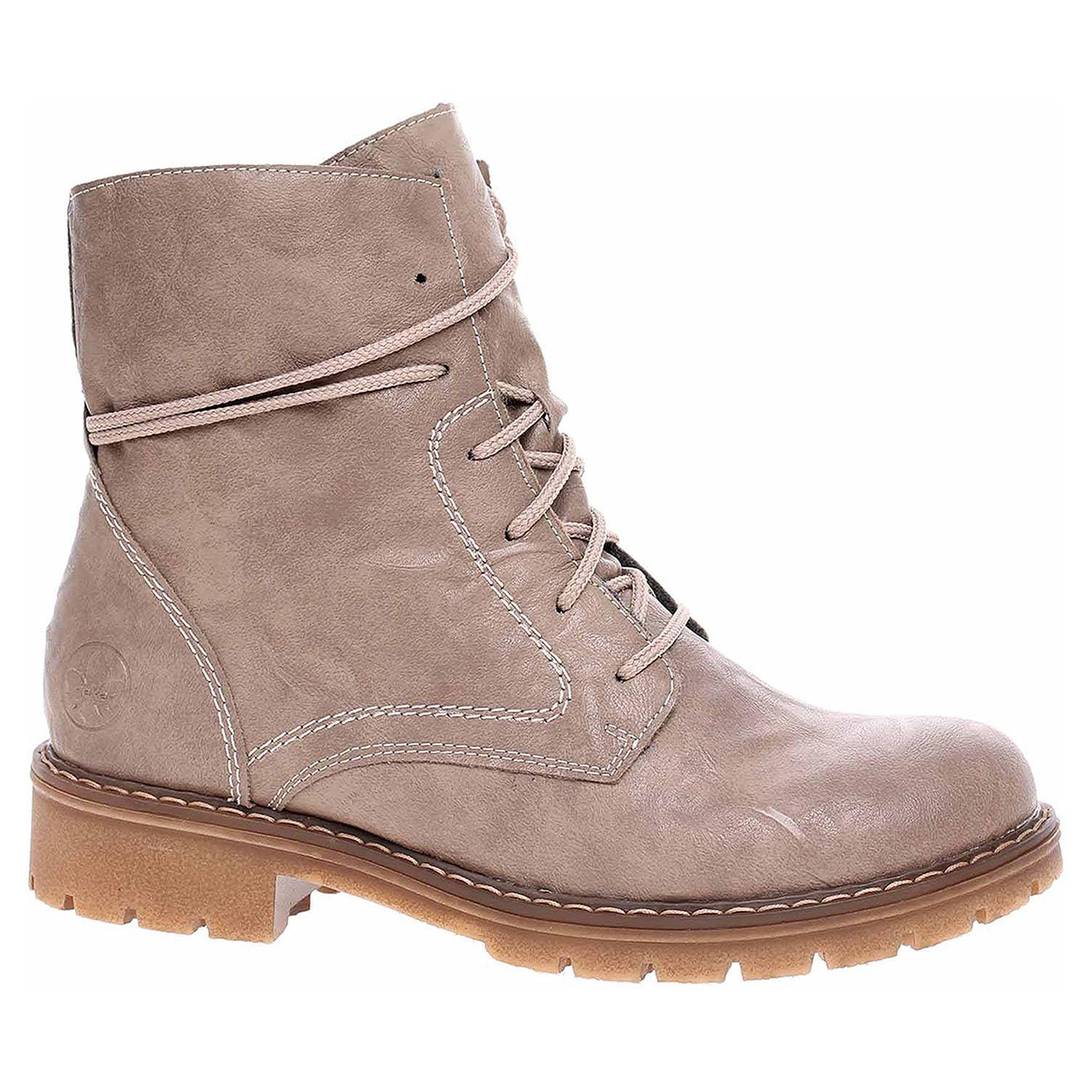 Dámská kotníková obuv Rieker Y9132-64 beige Y9132-64 39