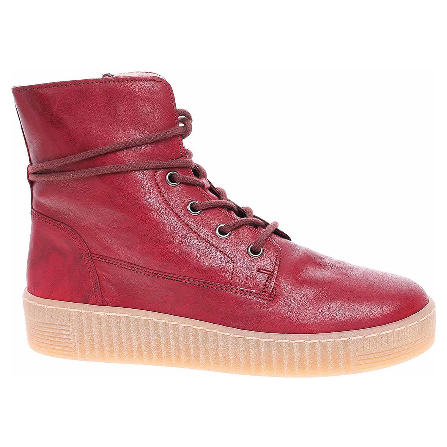 Dámská kotníková obuv Gabor 33.732.75 dark-red 33.732.75 39