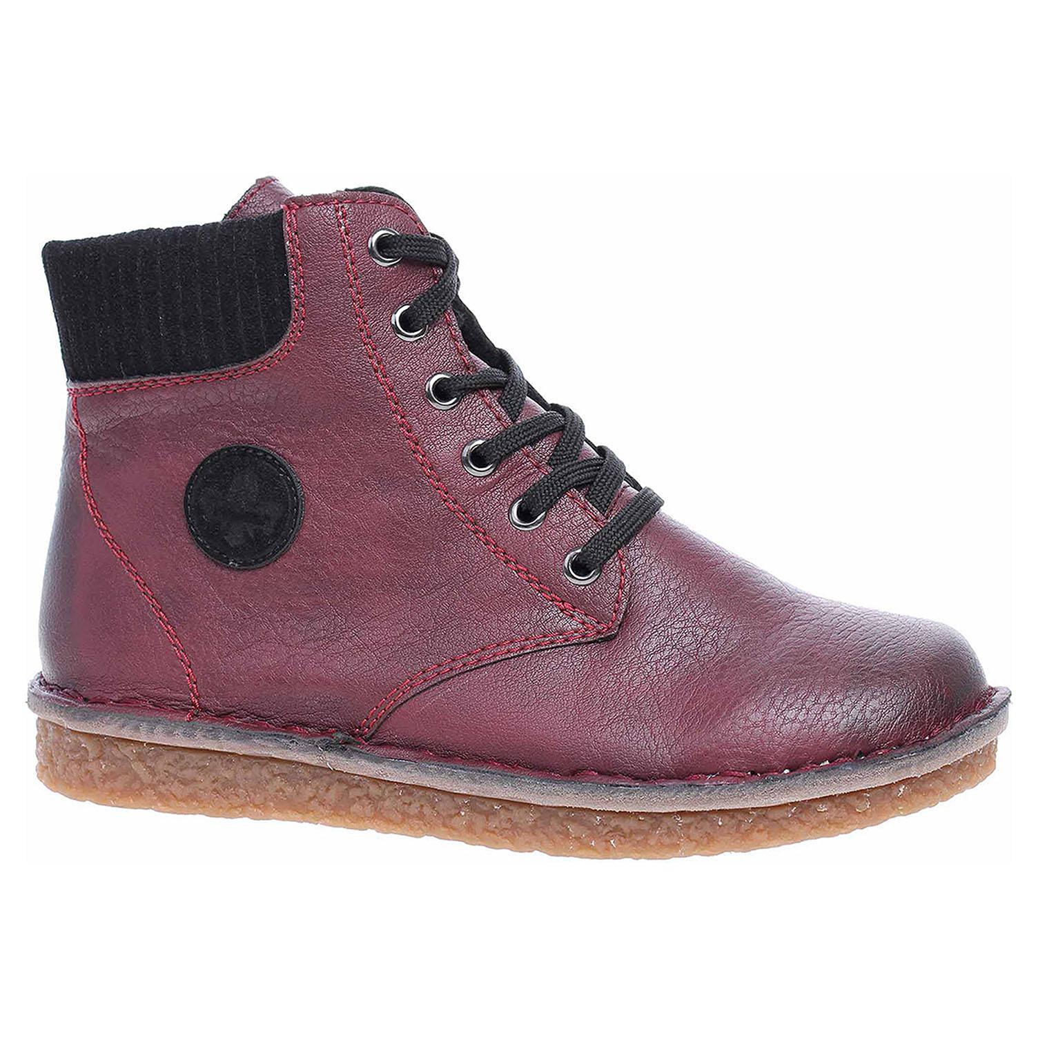 Dámská kotníková obuv Rieker 70920-35 rot kombi 70920-35 39