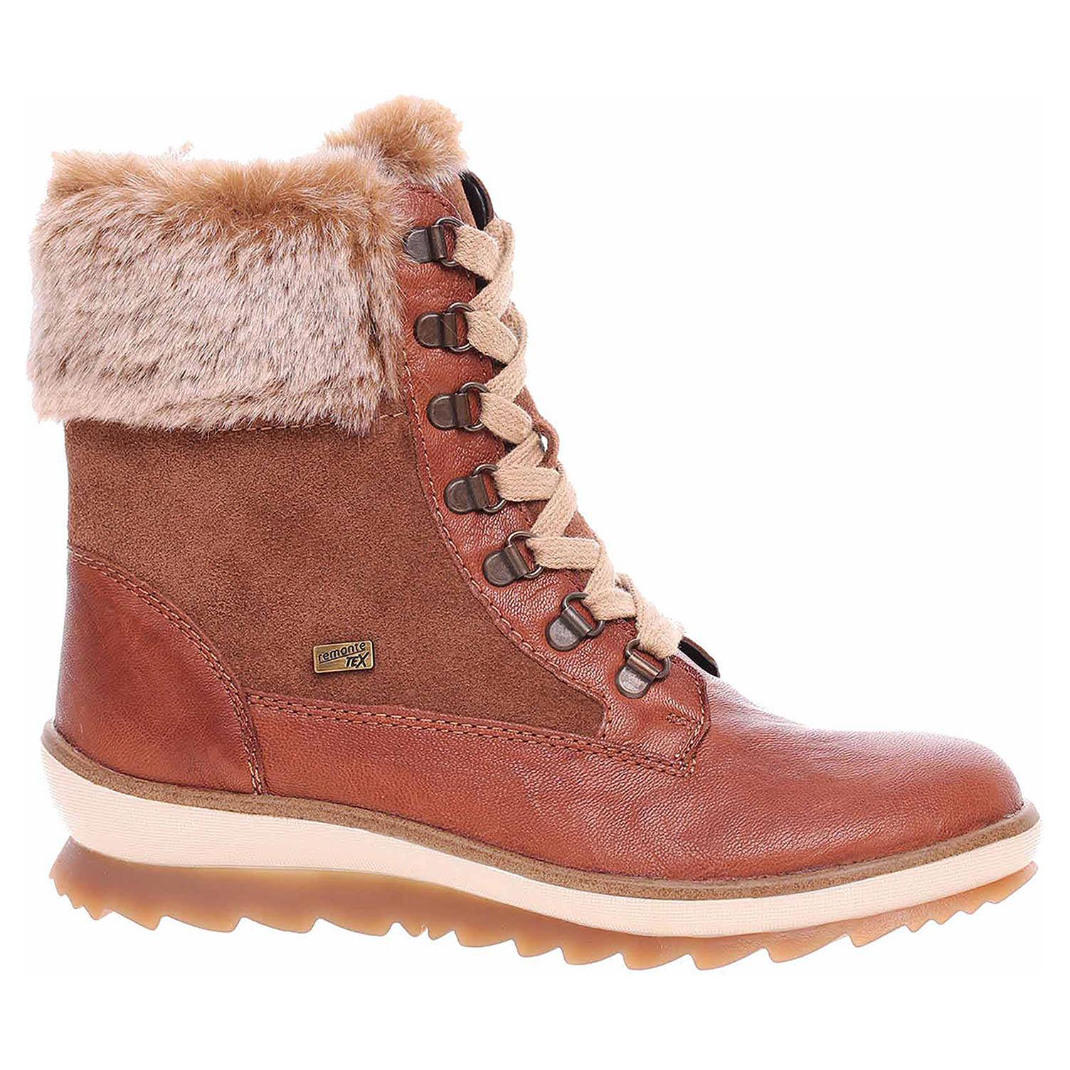 Dámská kotníková obuv Remonte R4375-23 braun R4375-23 39