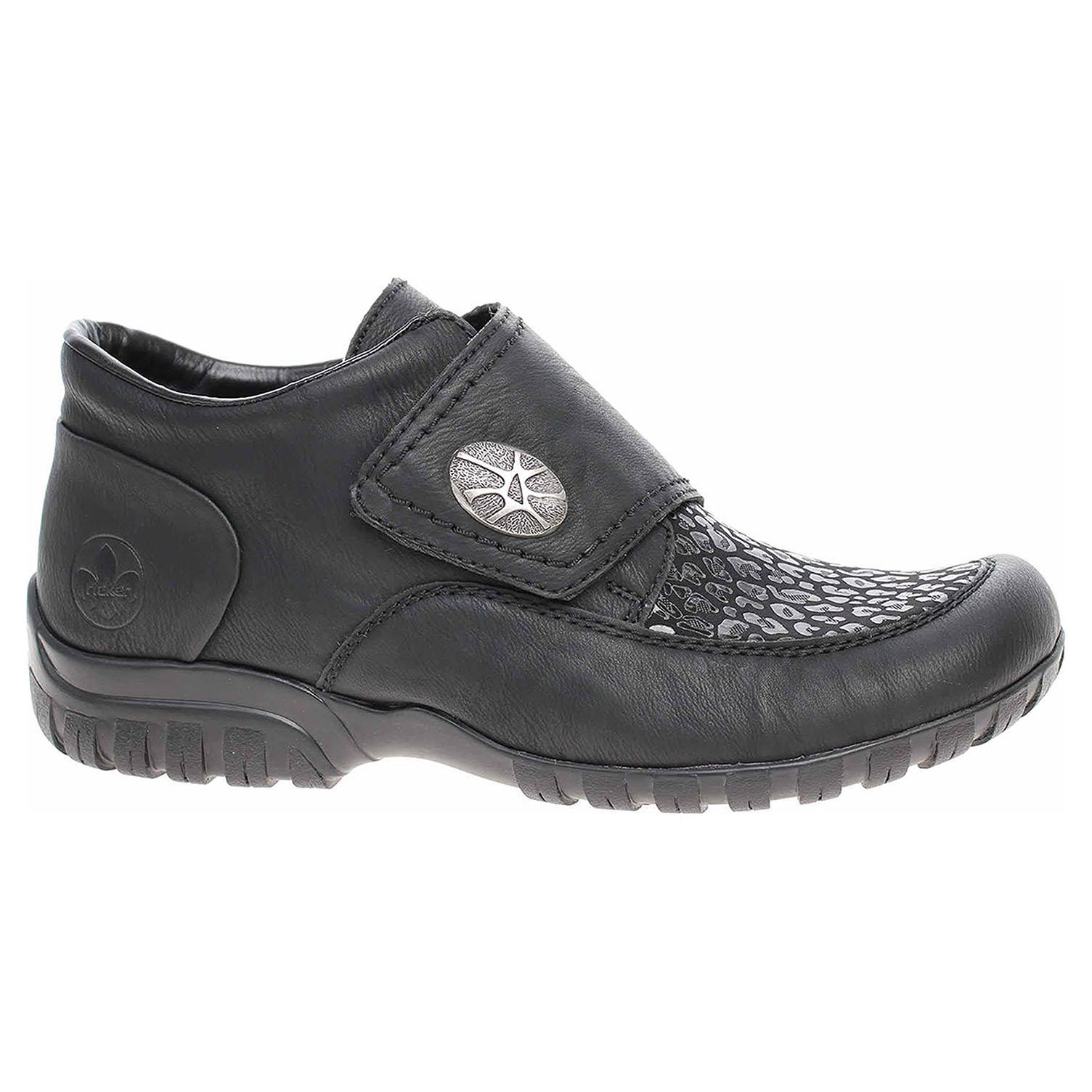 Dámská kotníková obuv Rieker L4664-00 schwarz L4664-00 39