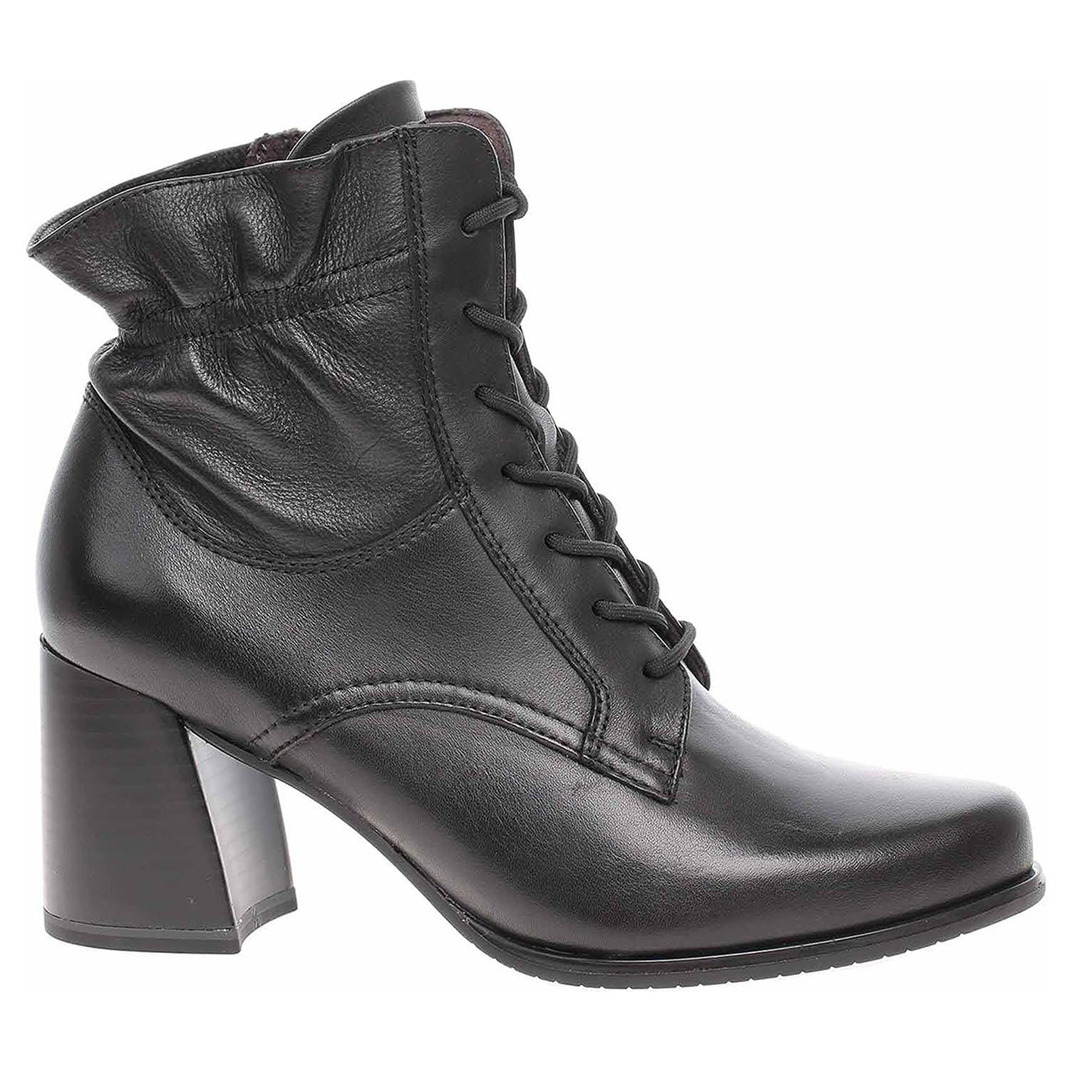 Tamaris dámská zimní obuv 1-25137-25 black 1-1-25137-25 001 39