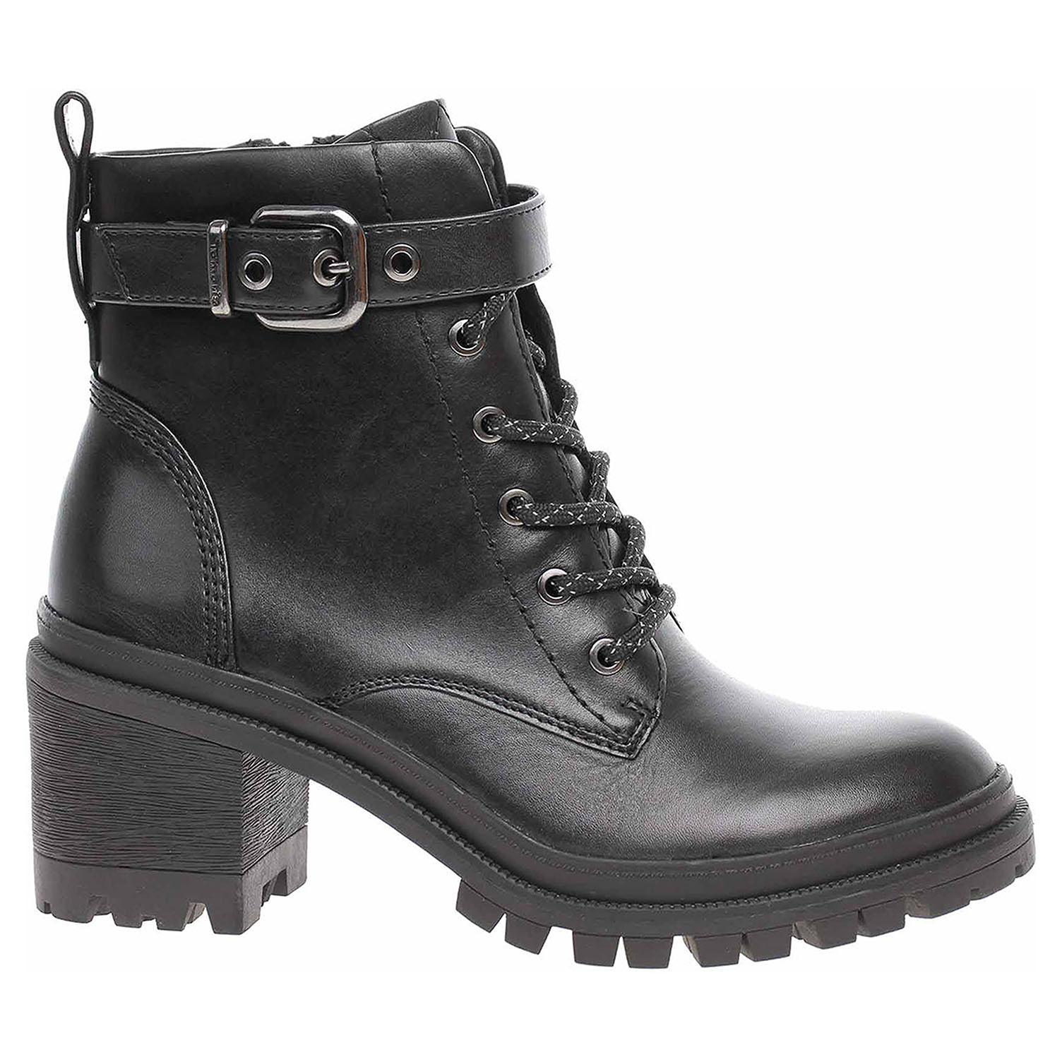 Tamaris dámská zimní obuv 1-25208-25 black 1-1-25208-25 001 39