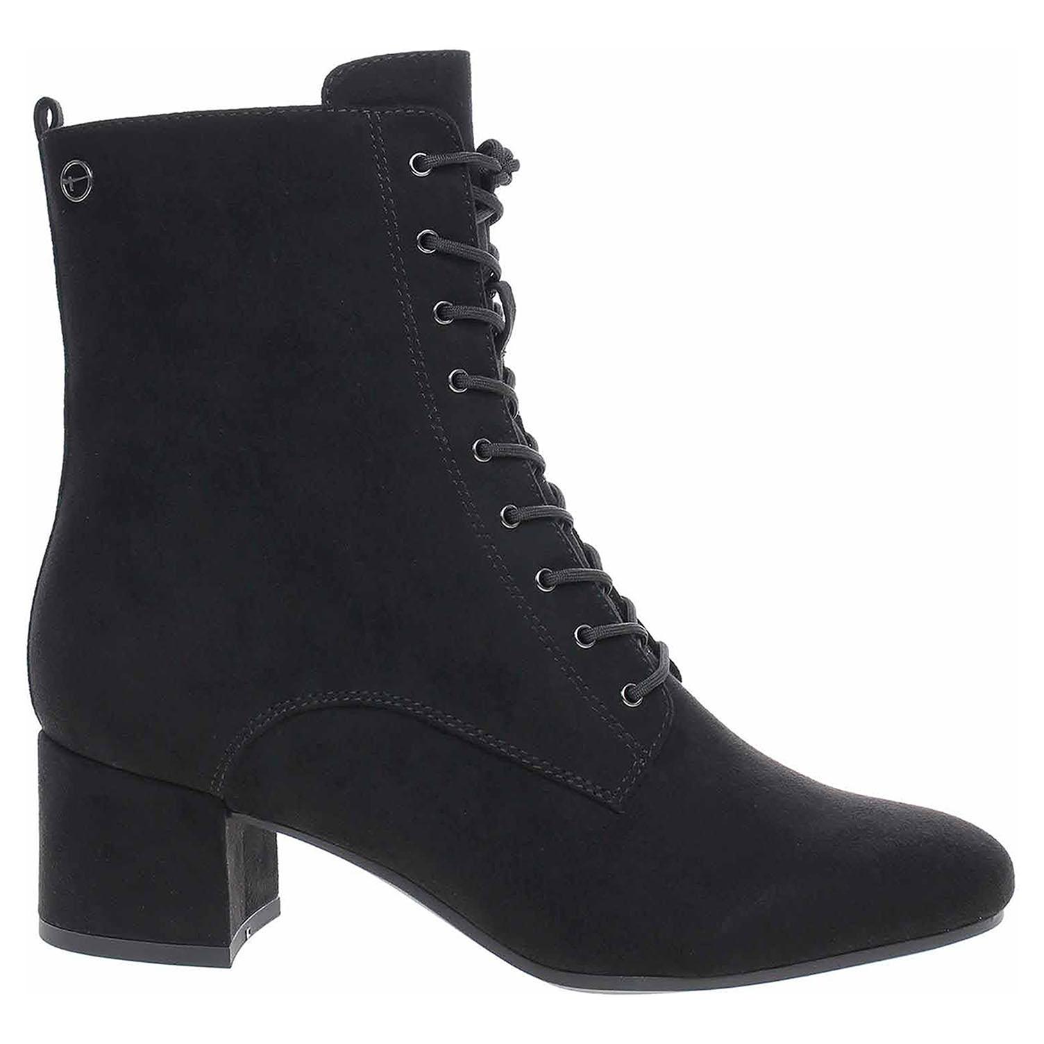 Tamaris dámská kotníková obuv 1-25102-25 black 1-1-25102-25 001 39