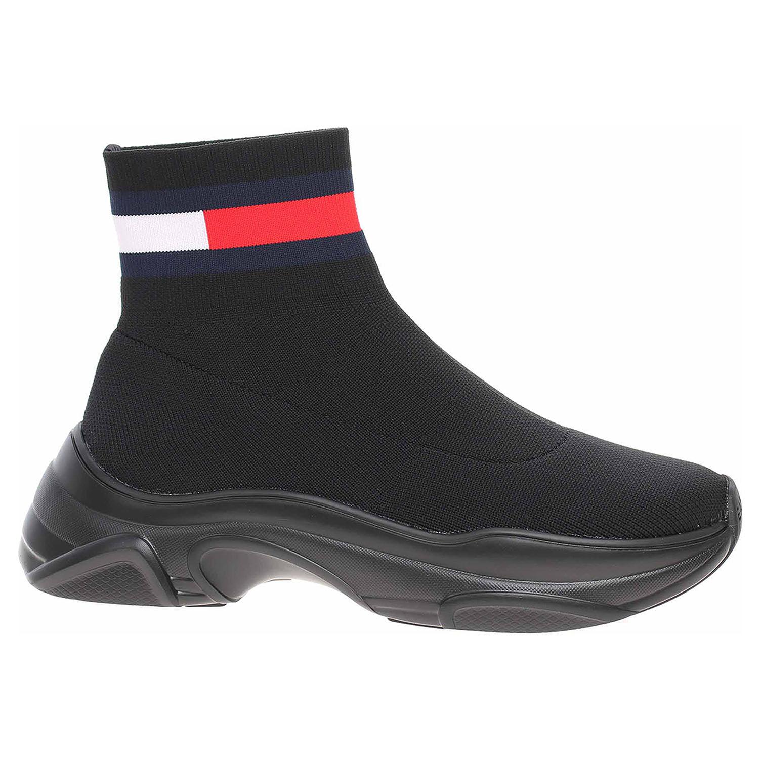 Dámská kotníková obuv Tommy Hilfiger EN0EN01163 BDS black EN0EN01163 BDS 39