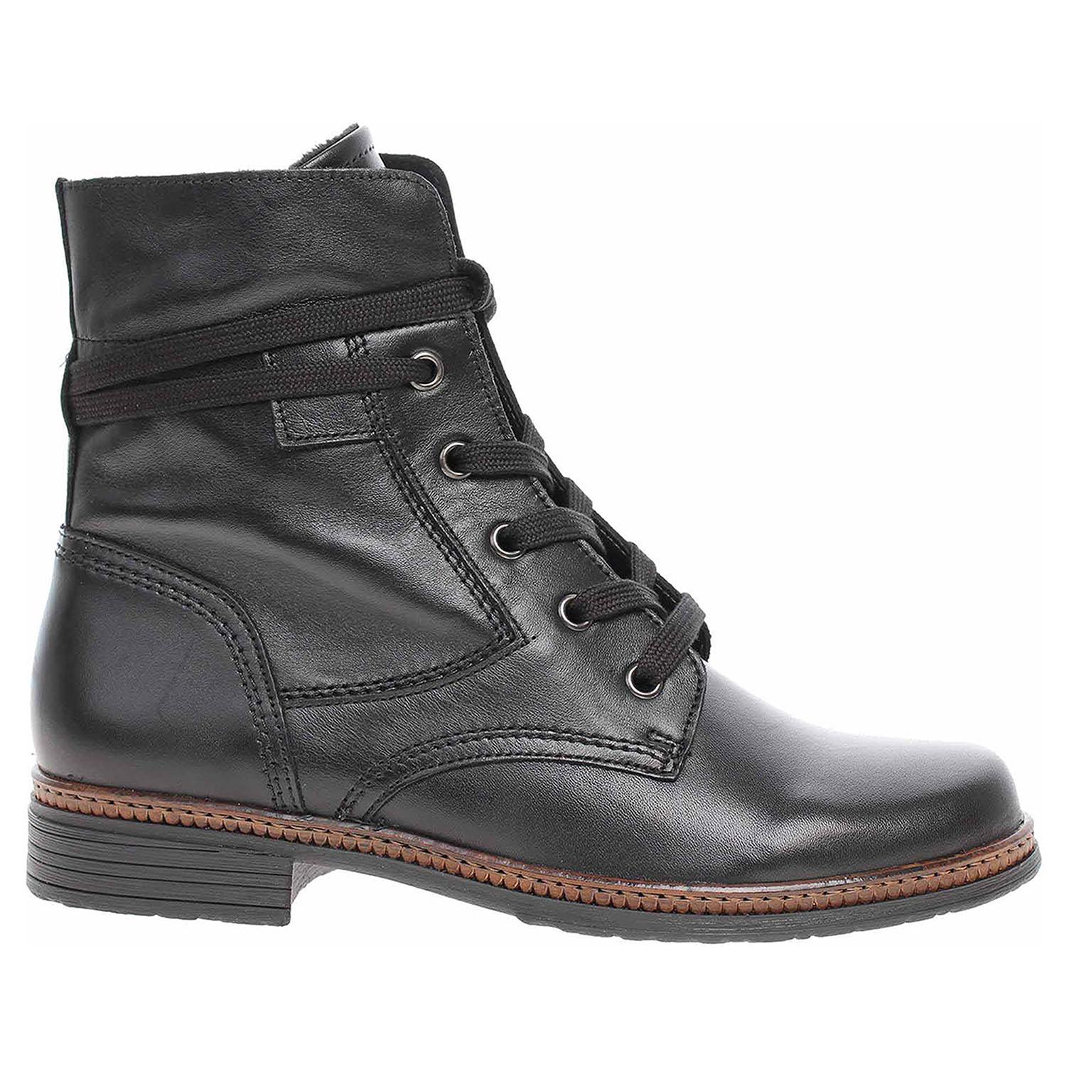 Dámská kotníková obuv Gabor 54.674.27 schwarz 54.674.27 39